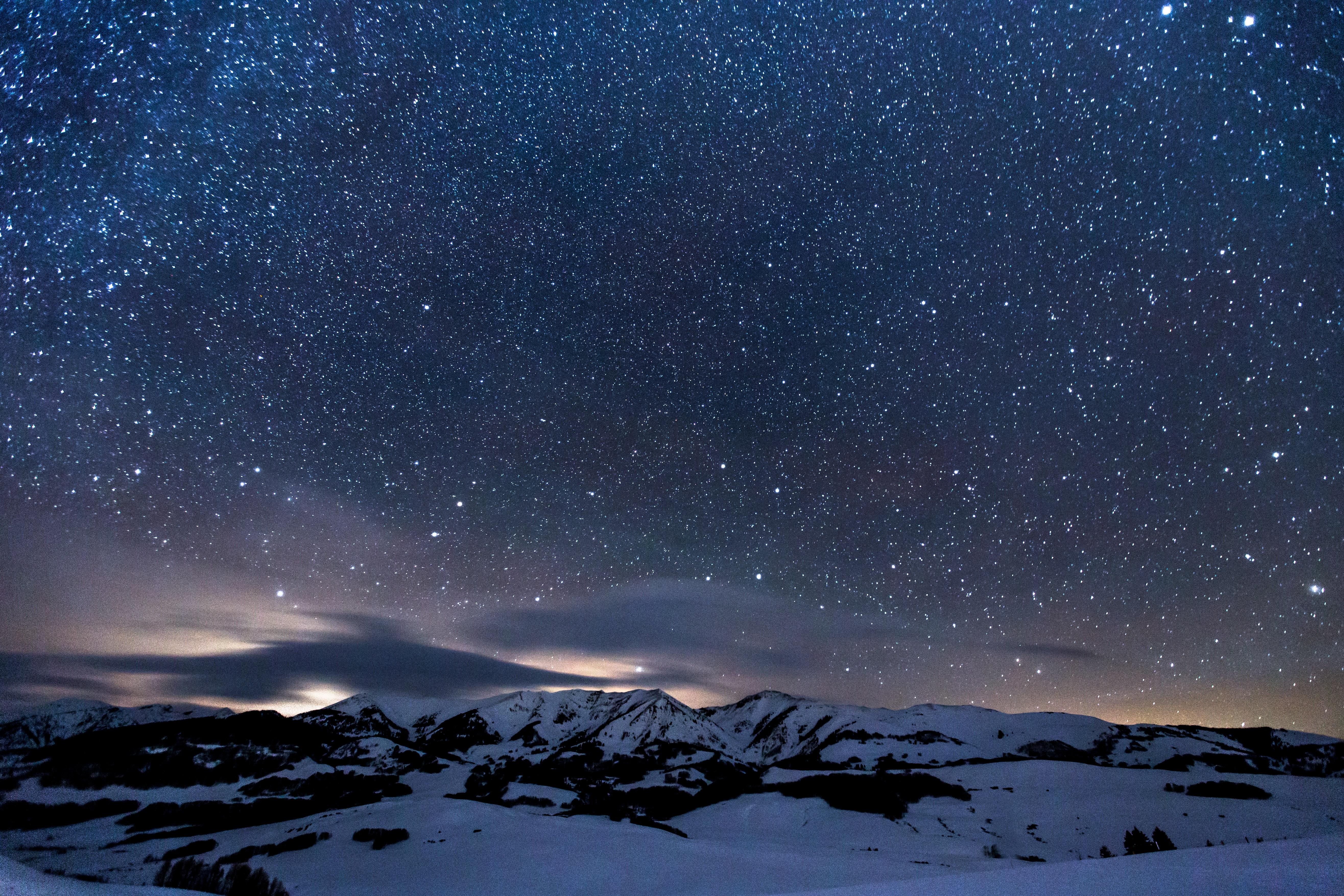 Images gratuites montagne neige hiver toile - Photos de neige gratuites ...
