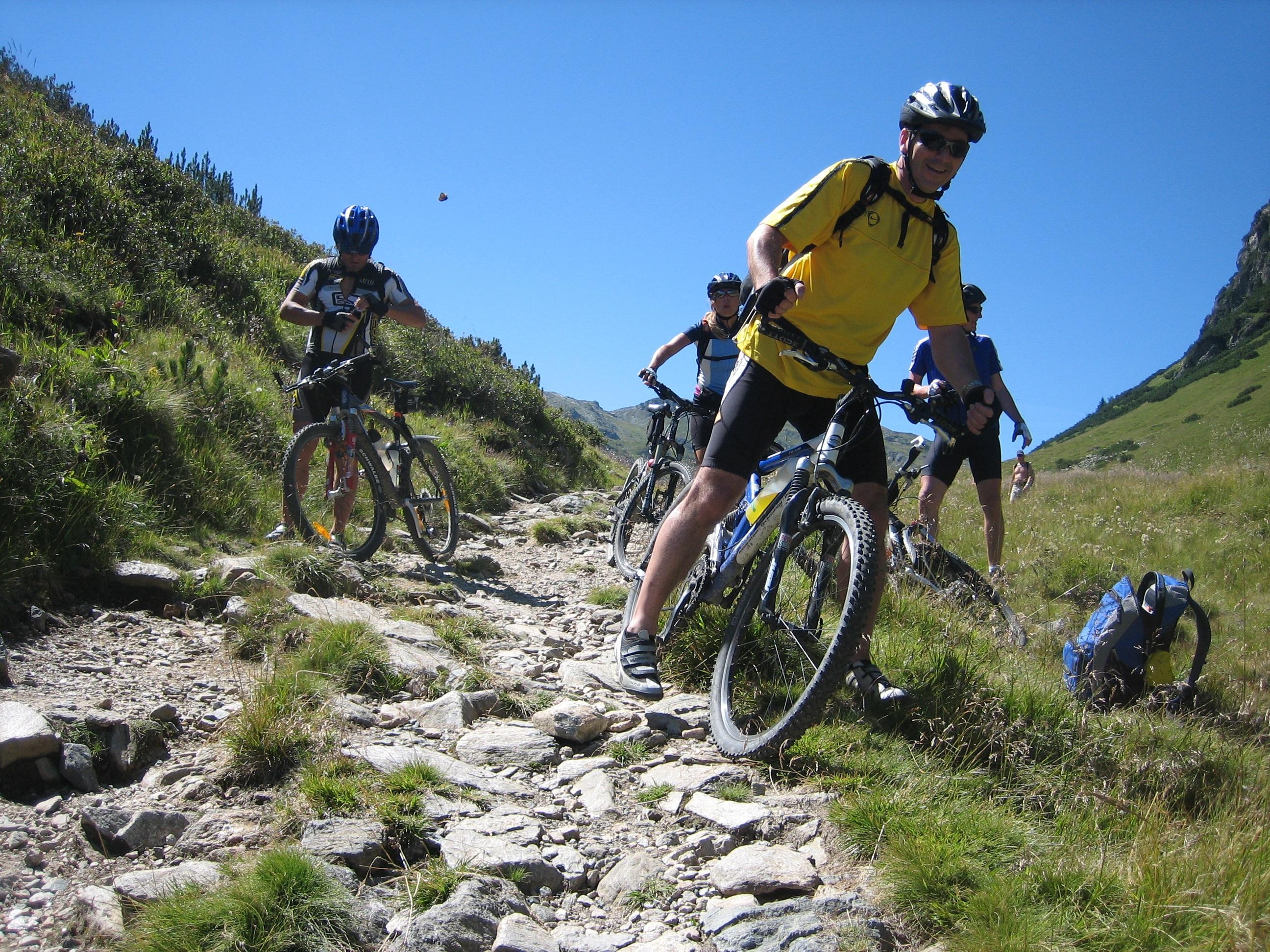 Free Images : trail, bicycle, mountain range, extreme ...