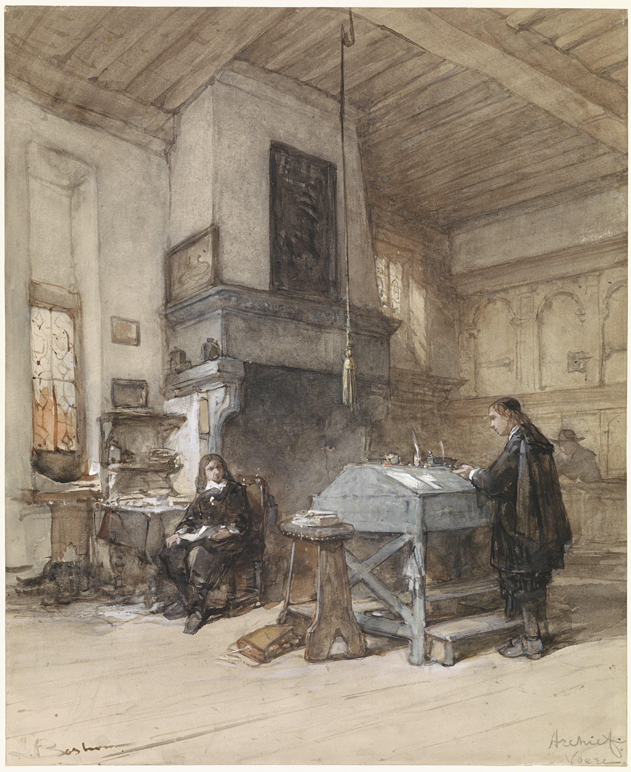 Gambar Museum Bersejarah Karya Seni Lukisan Sketsa