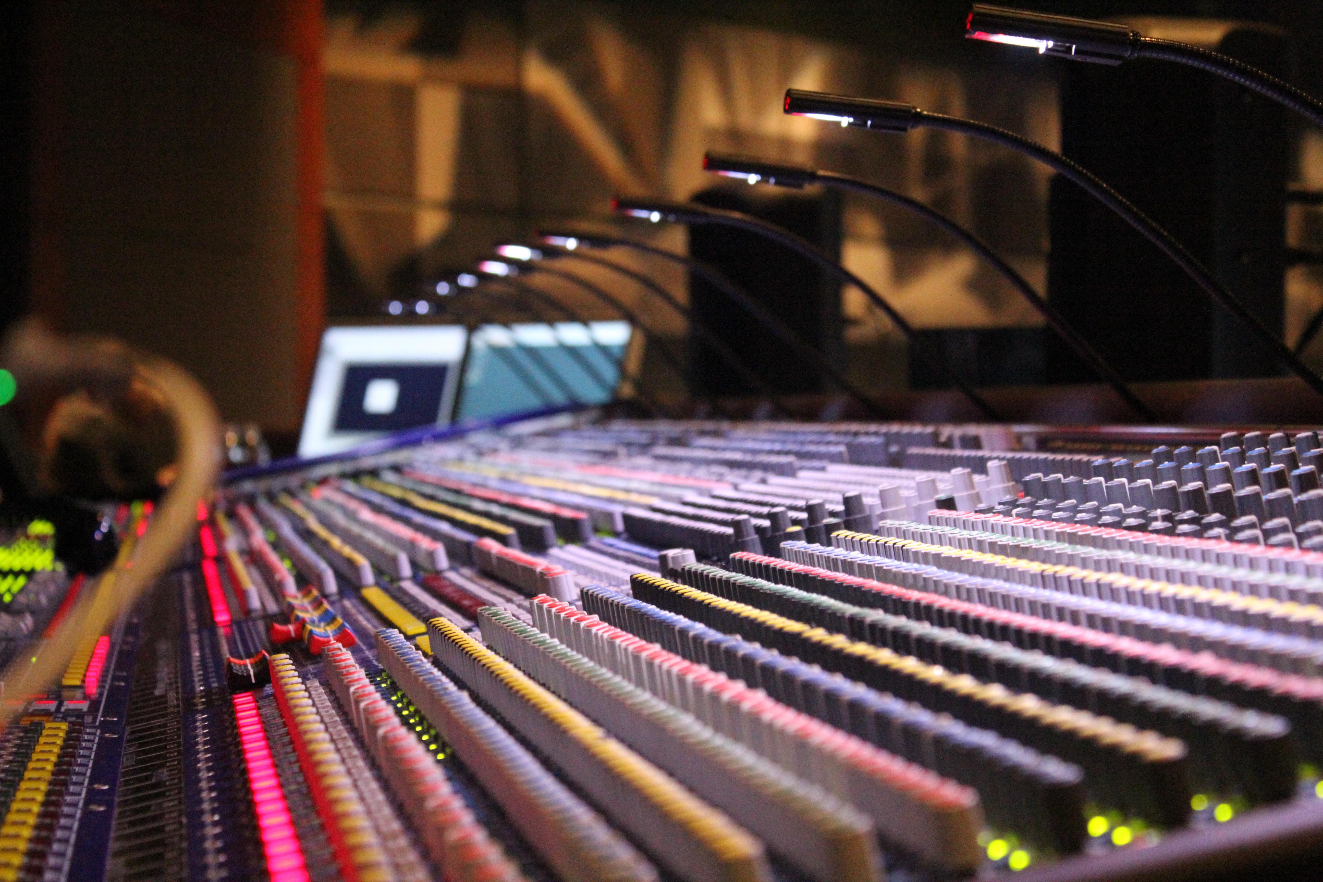 Free Images : music, equipment, studio, sound, soundboard
