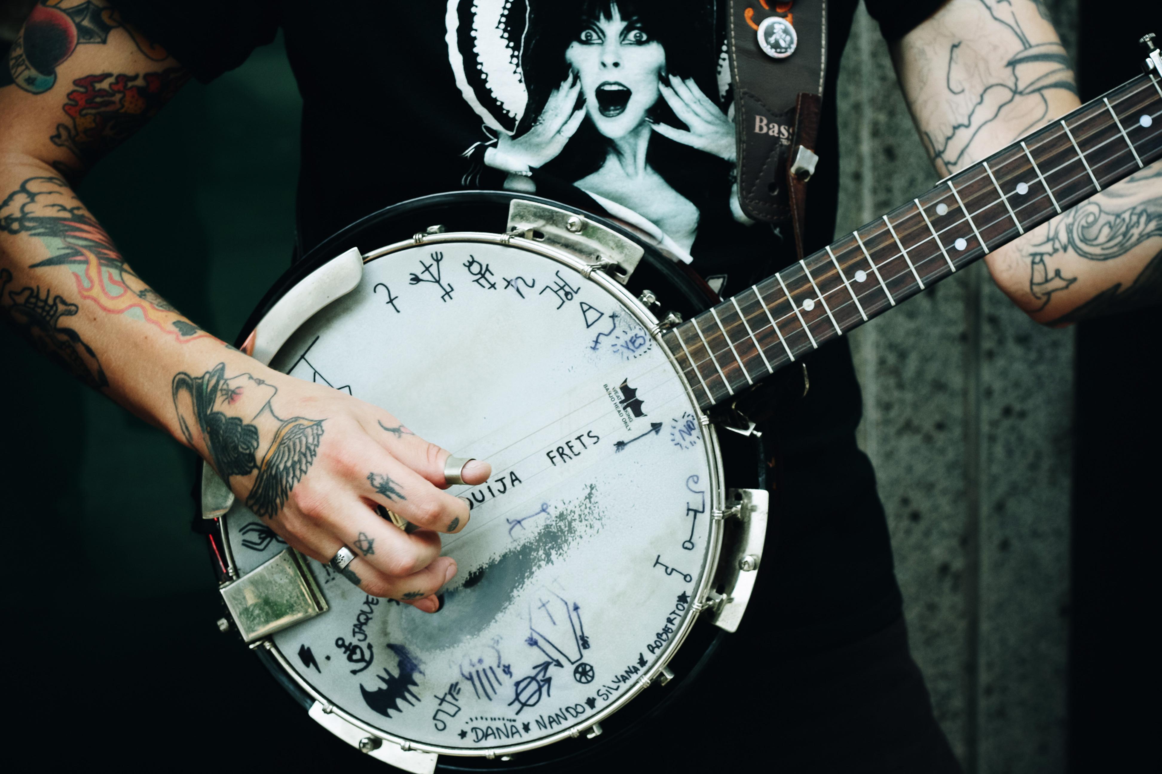Images Gratuites La Musique Guitare Acoustique Tatouage En