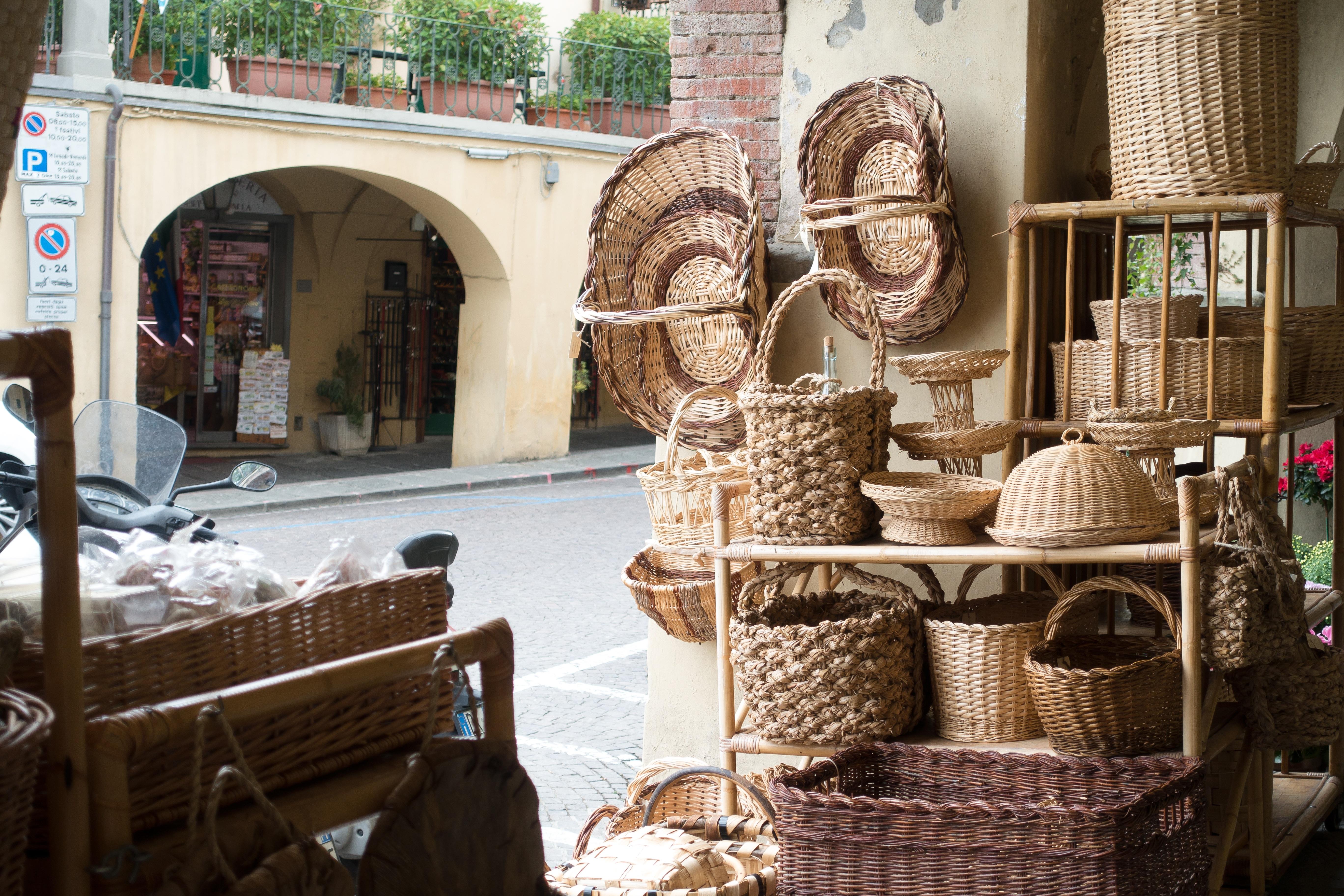 Gratis Afbeeldingen : muziek-, Italië, Toscane, markt, bedrijf, mand ...