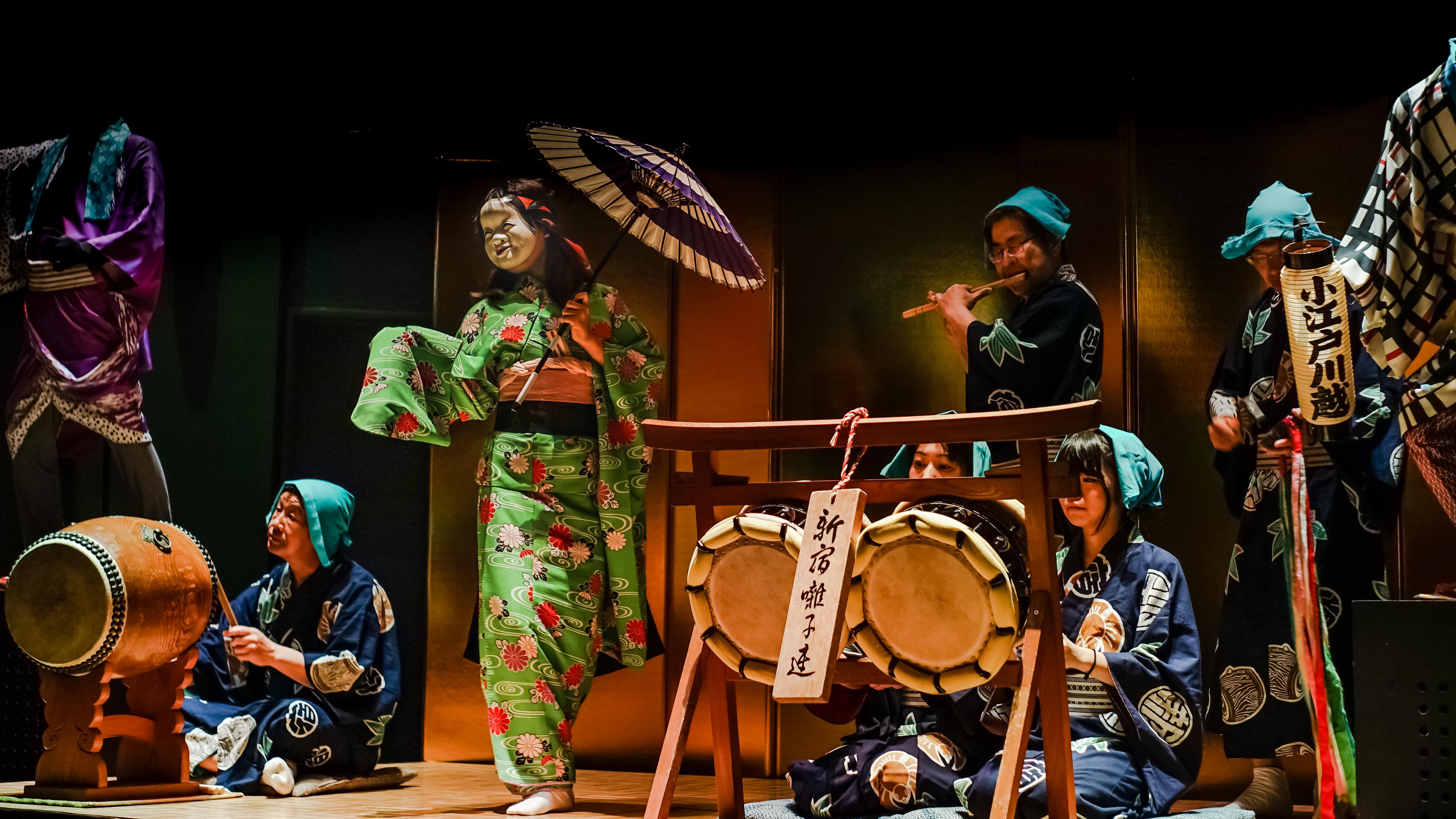 Japanische darstellende Künste