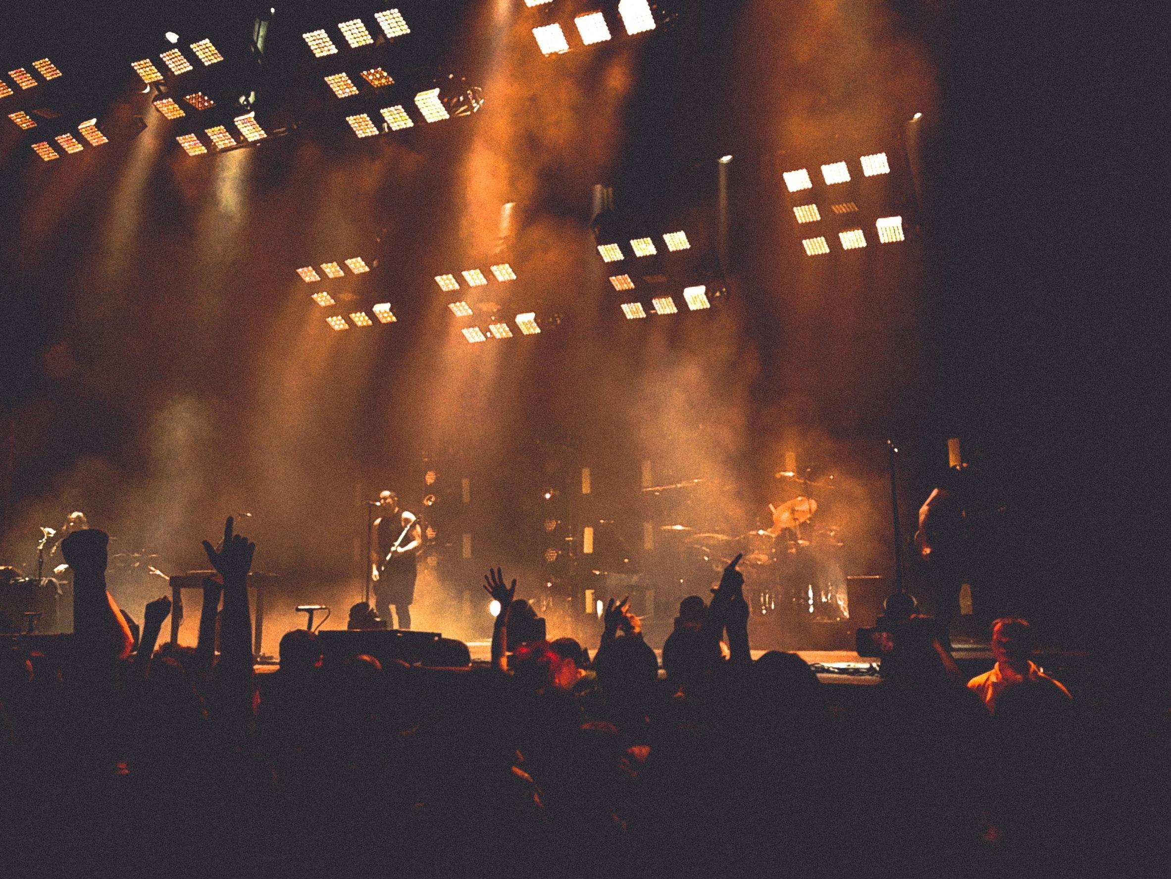 Free Images : music, people, smoke, crowd, dark, band ... - photo#18