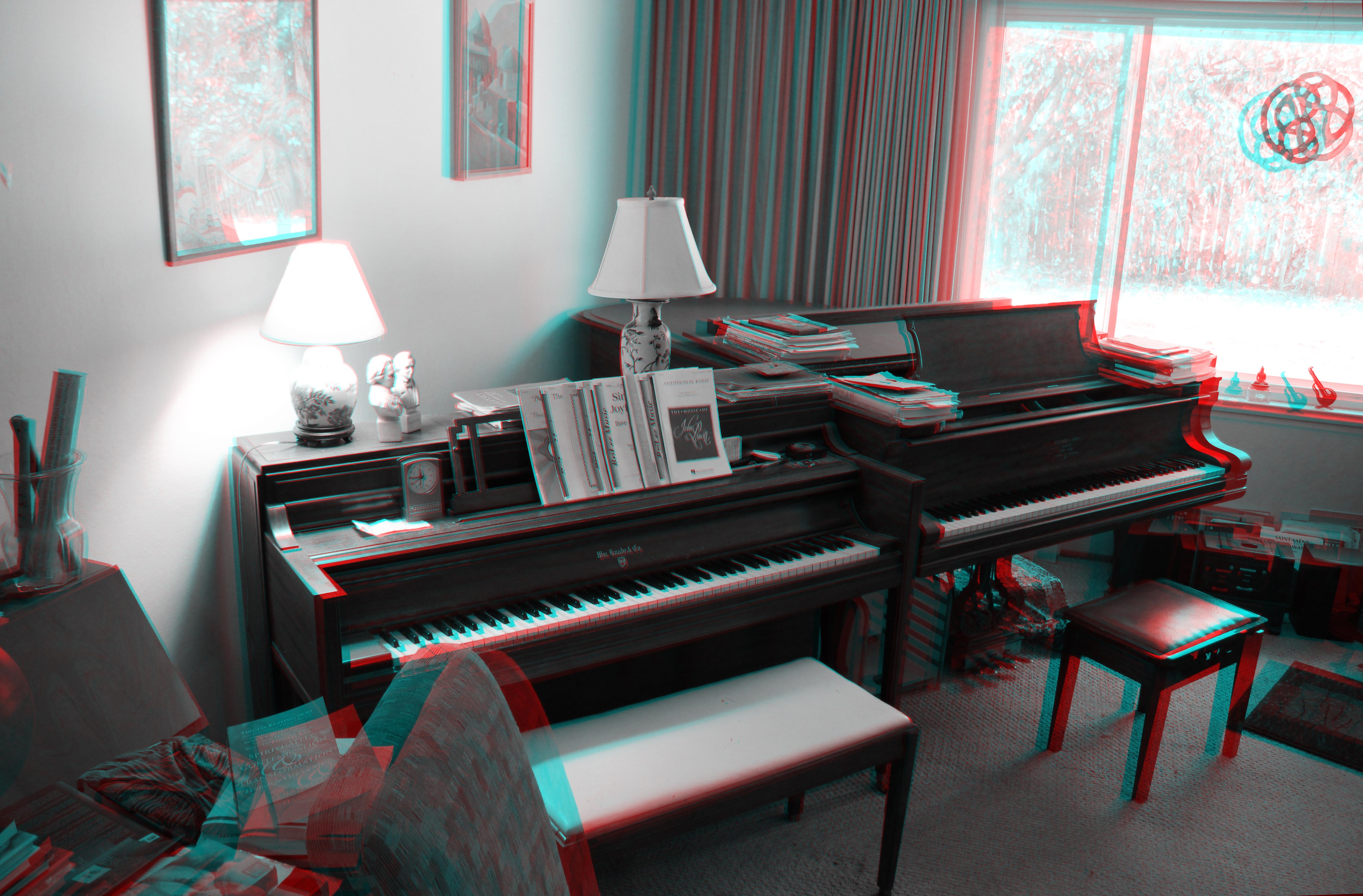 Gratis Afbeeldingen : muziek-, technologie, rood, piano, studio ...