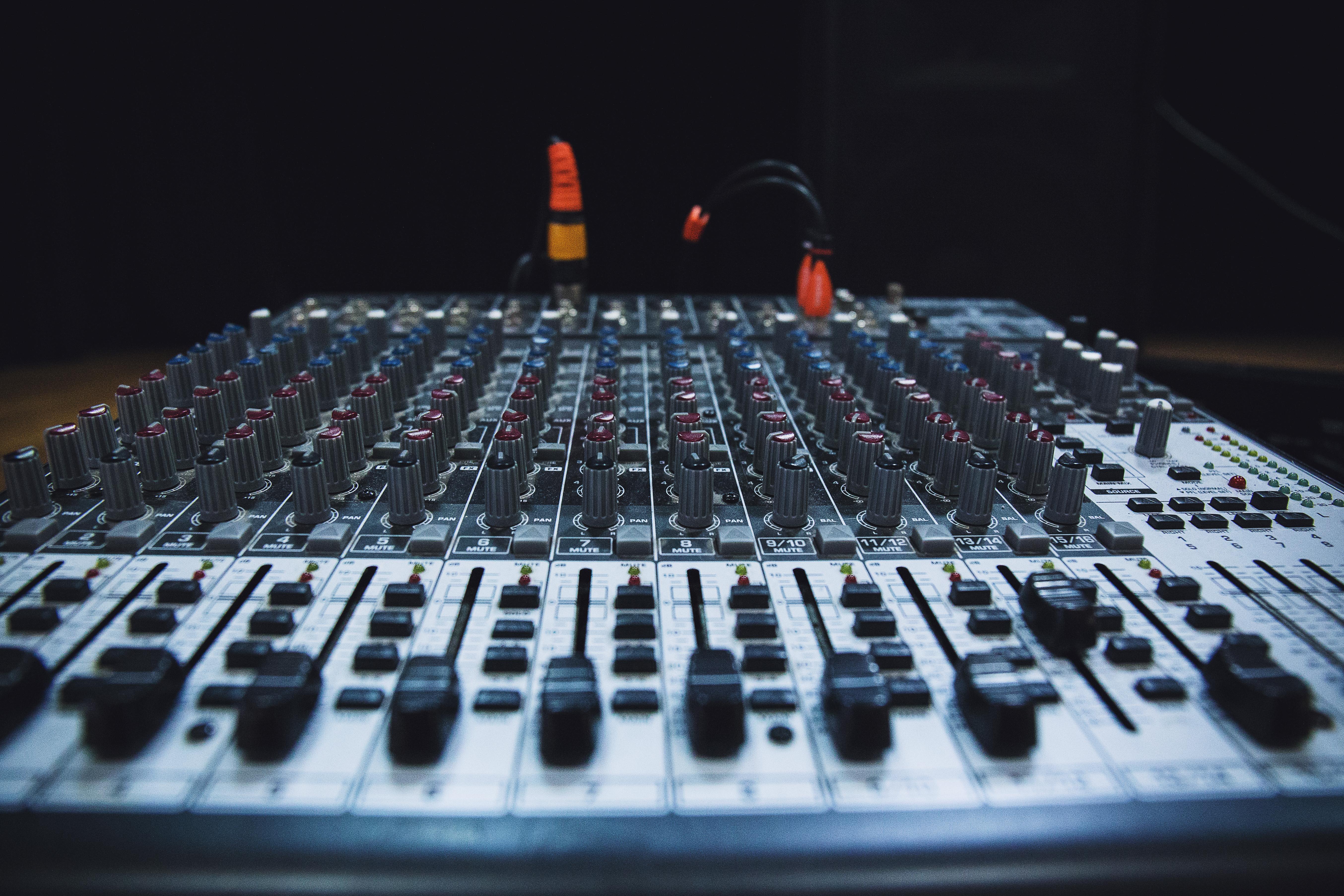 Free Images : music, technology, studio, equalizer, audio equipment