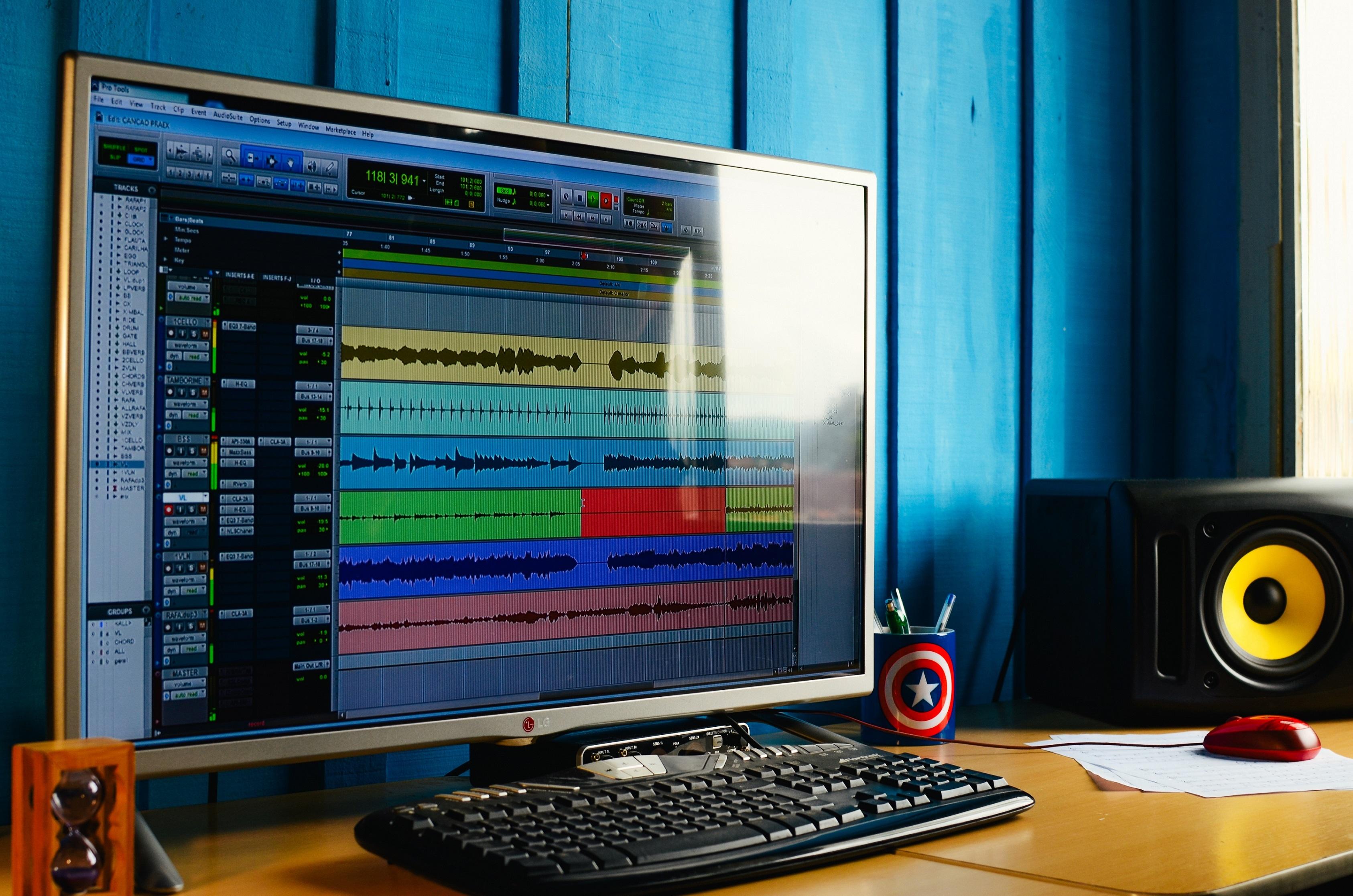 free images music technology studio sound mixing multimedia screenshot estudio audio. Black Bedroom Furniture Sets. Home Design Ideas