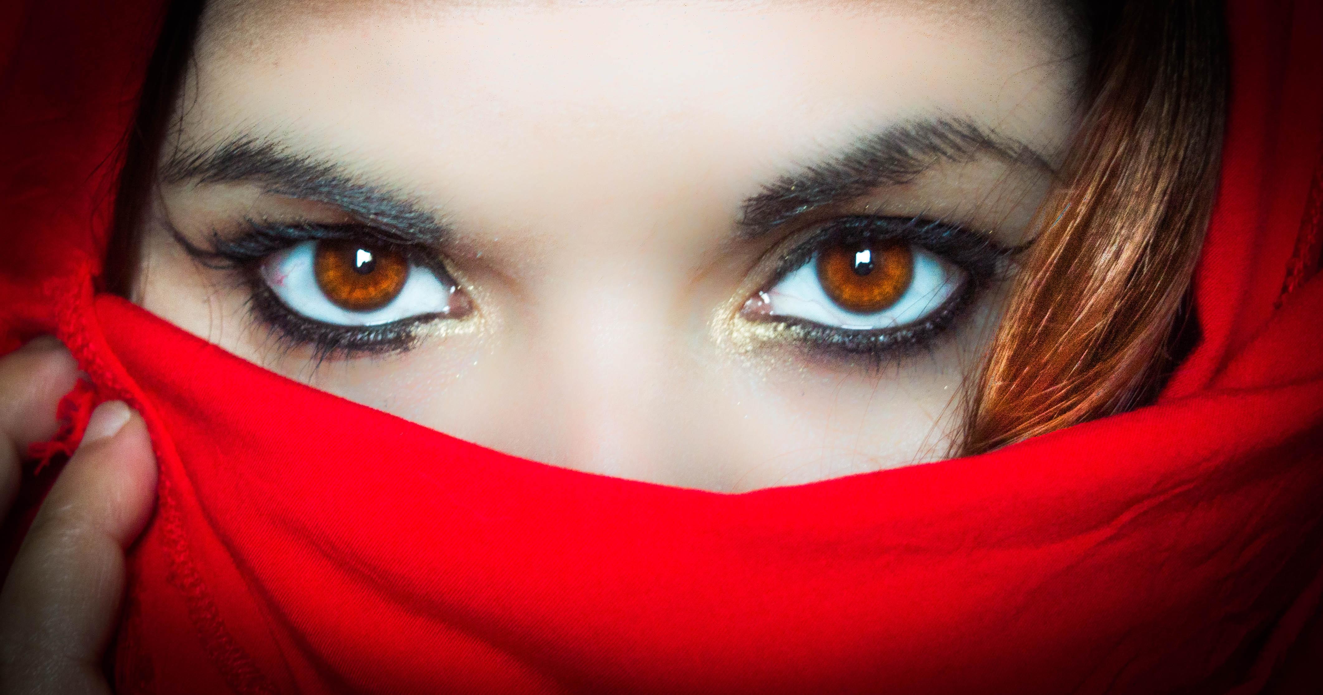 Картинки глаза девочек