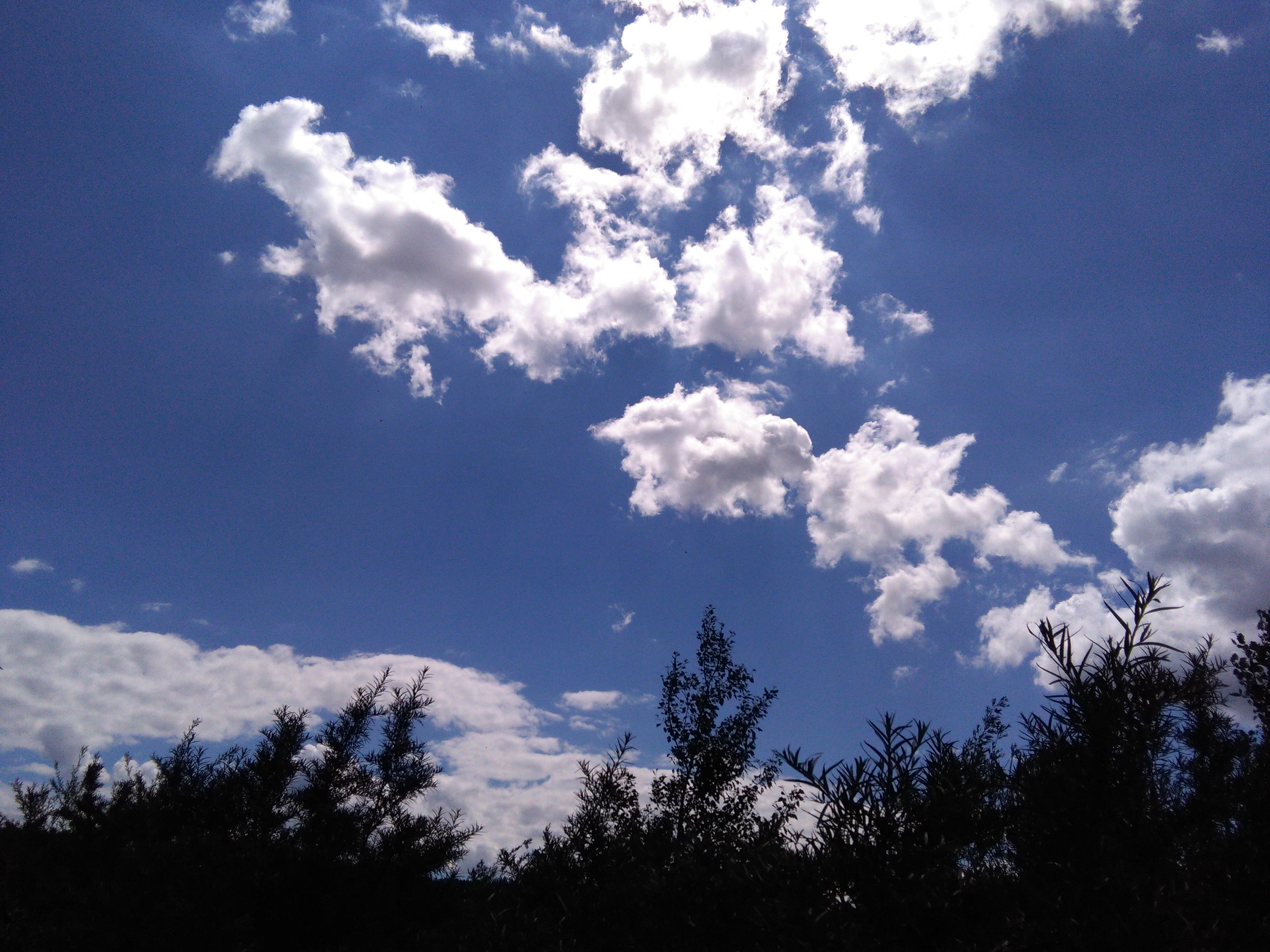 фотографии облачного неба естественные без прикрас