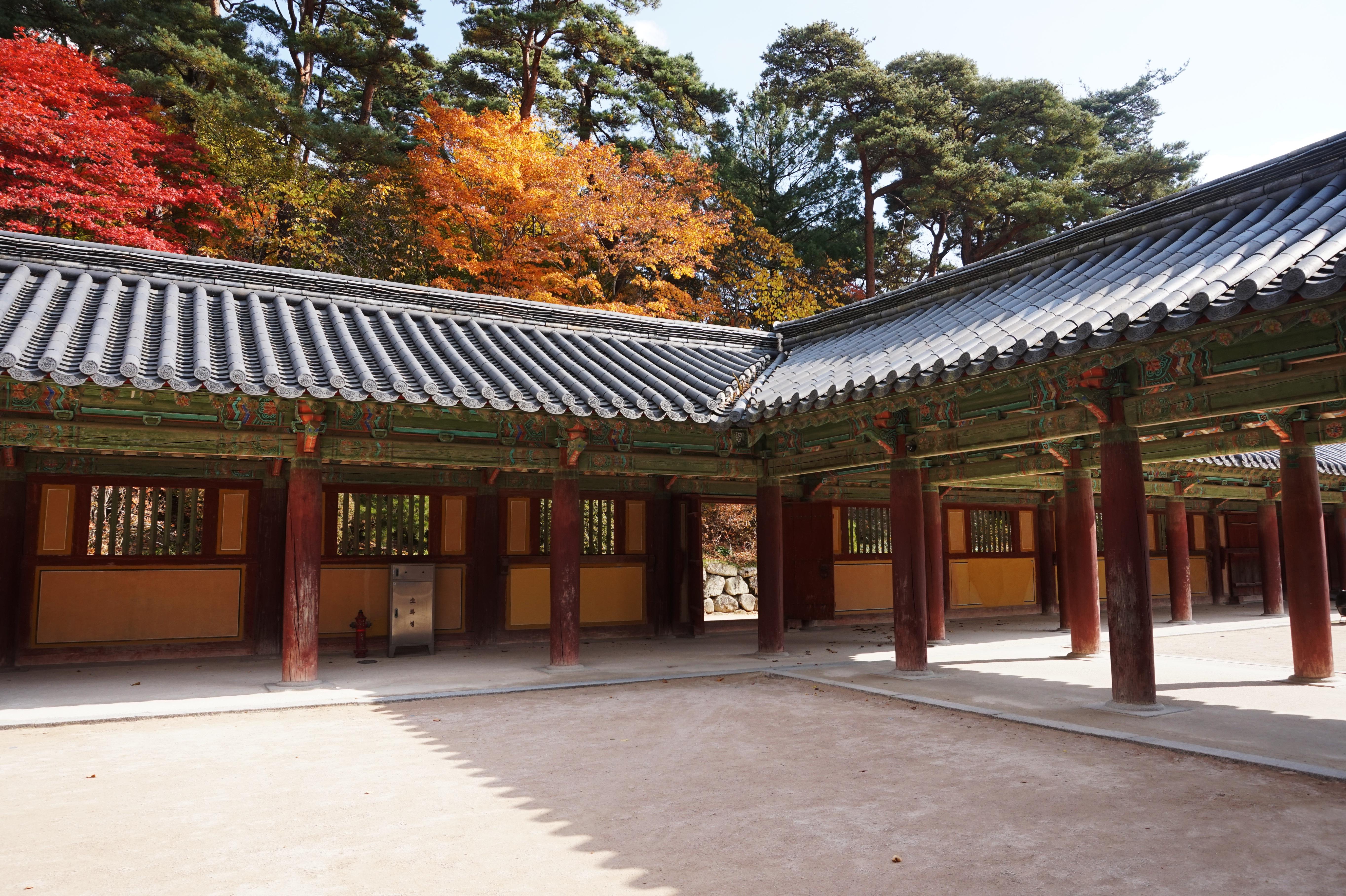 Religion Tourism Place Of Worship Racing Pavilion Buddha Tourist Destination Republic Korea Hanok Traditional Temples South Section