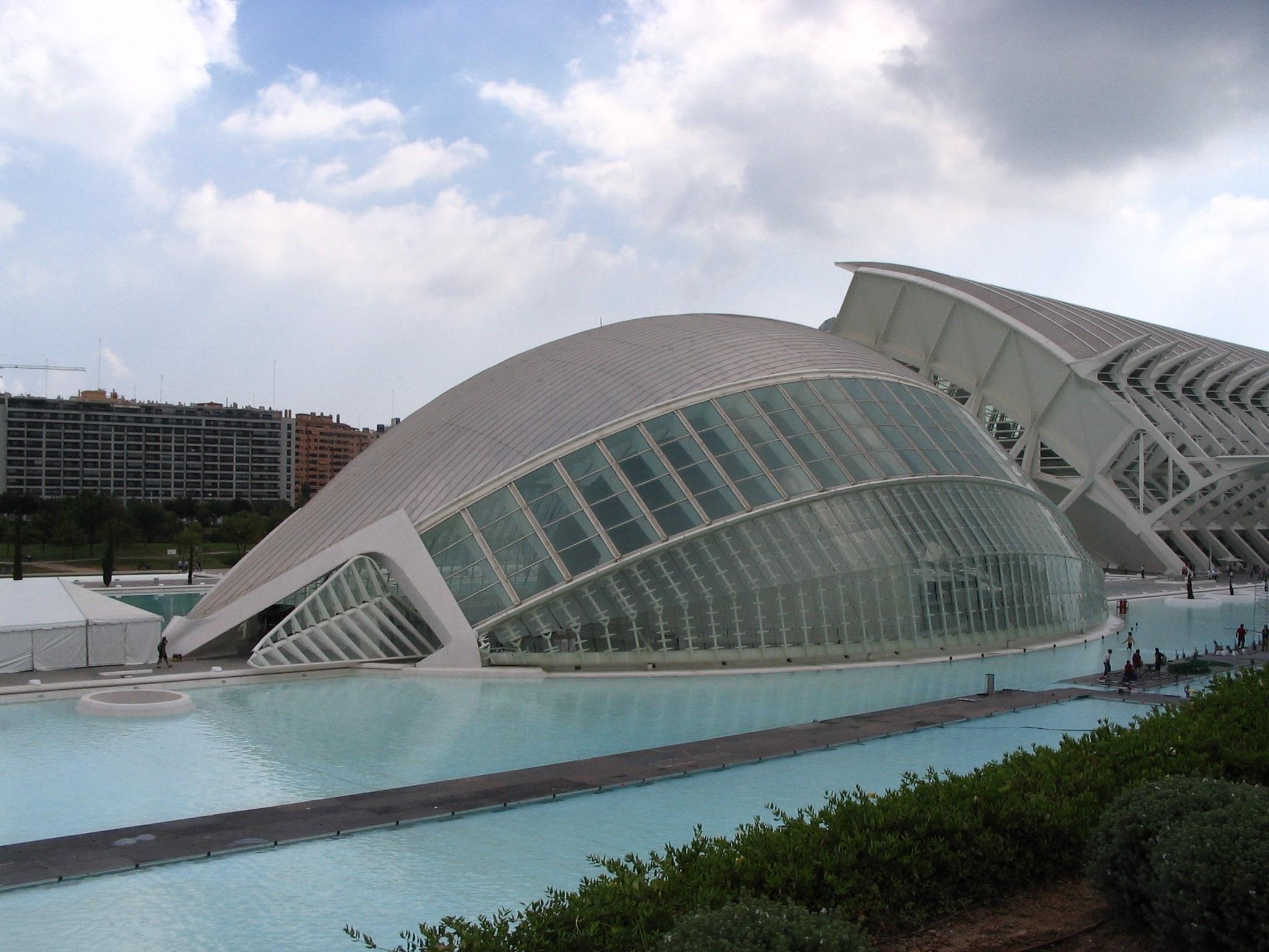 Natur Die Architektur Struktur Stadion Moderne Architektur Kunst  Wissenschaft Arena Spanien Messe Kultur Valencia Kuppel Kongresszentrum