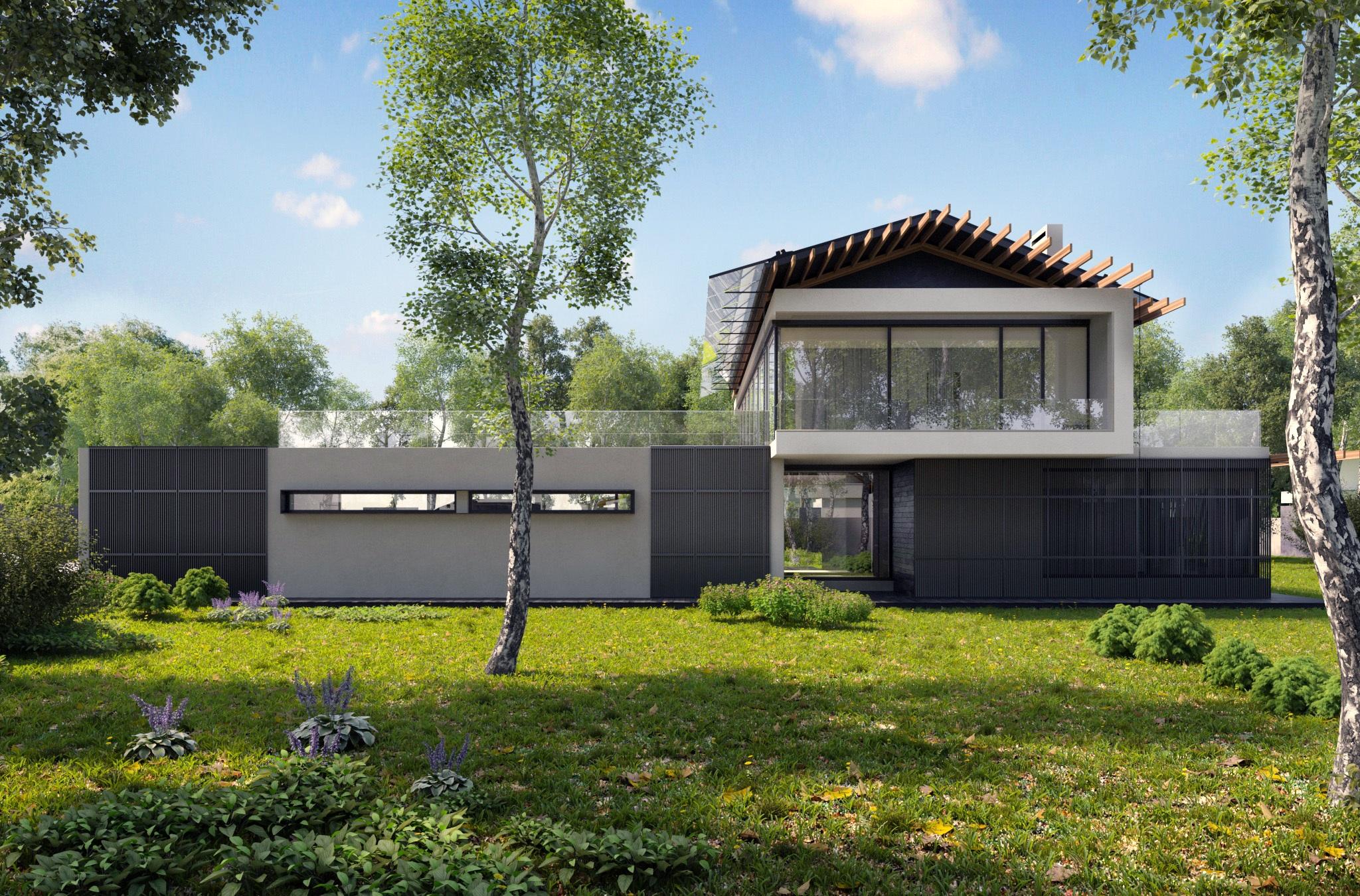 Free images nature architecture villa mansion house for Exterieur villa moderne