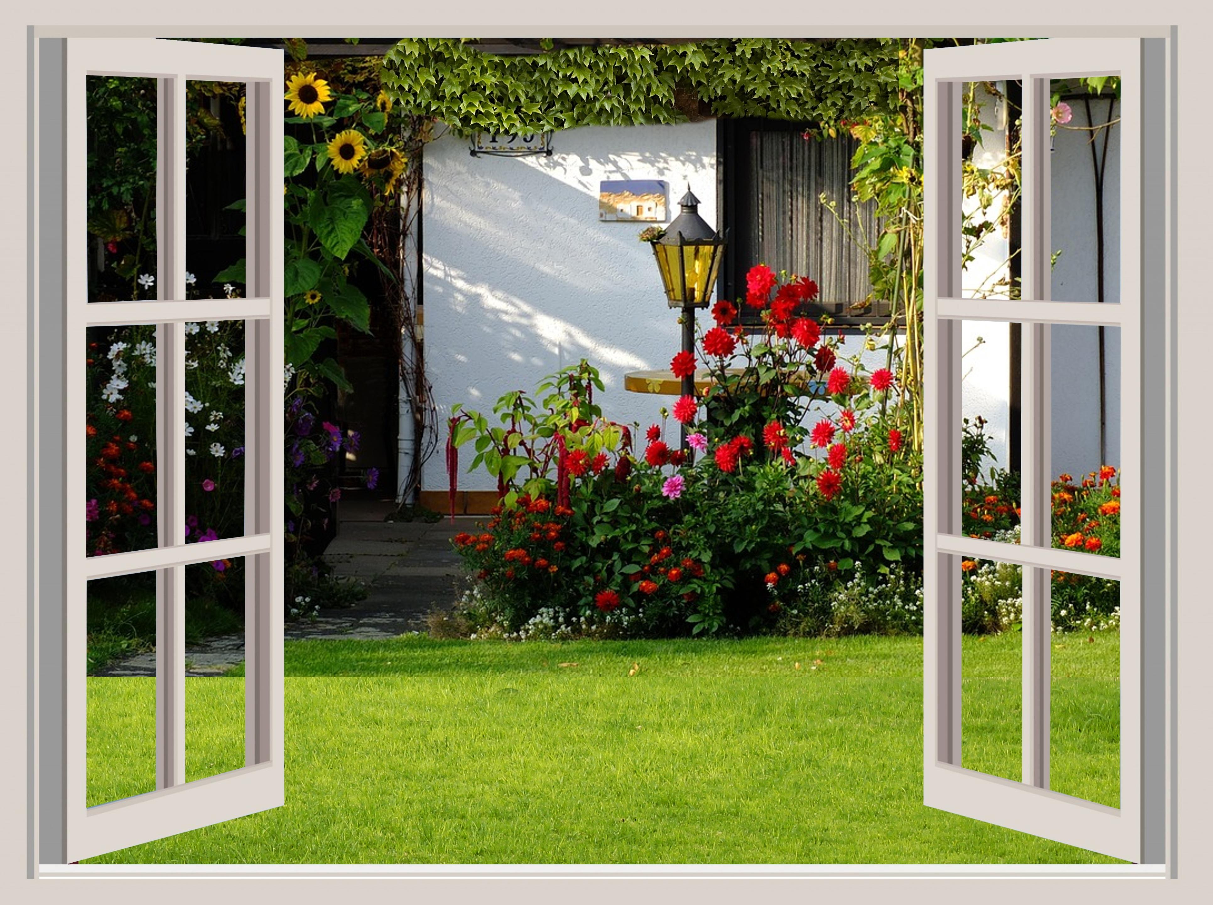 Fotos gratis : naturaleza, ligero, florecer, porche, idílico, arco ...