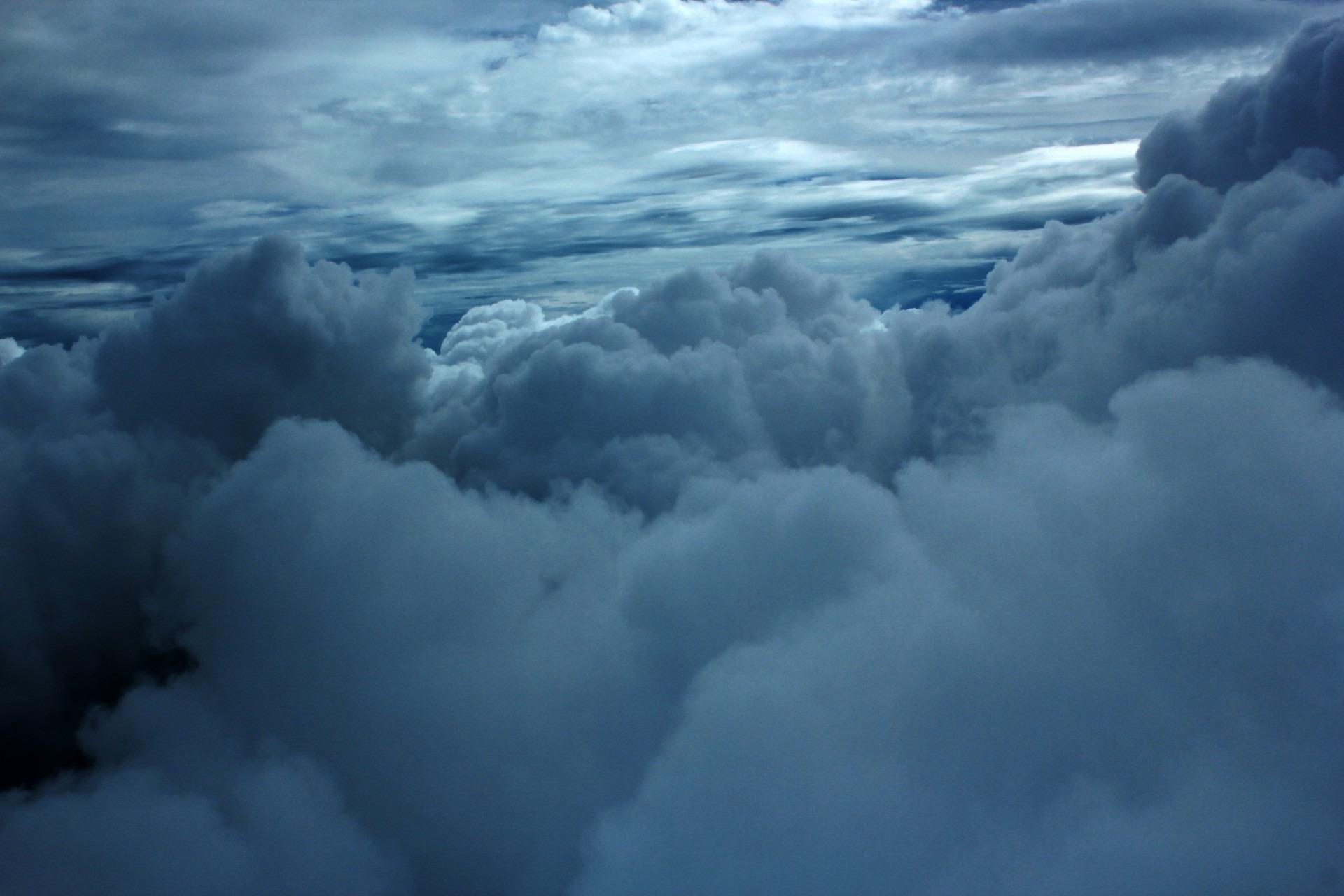 Gambar Alam Berawan Suasana Cuaca Gumpalan Awan Awan Awan