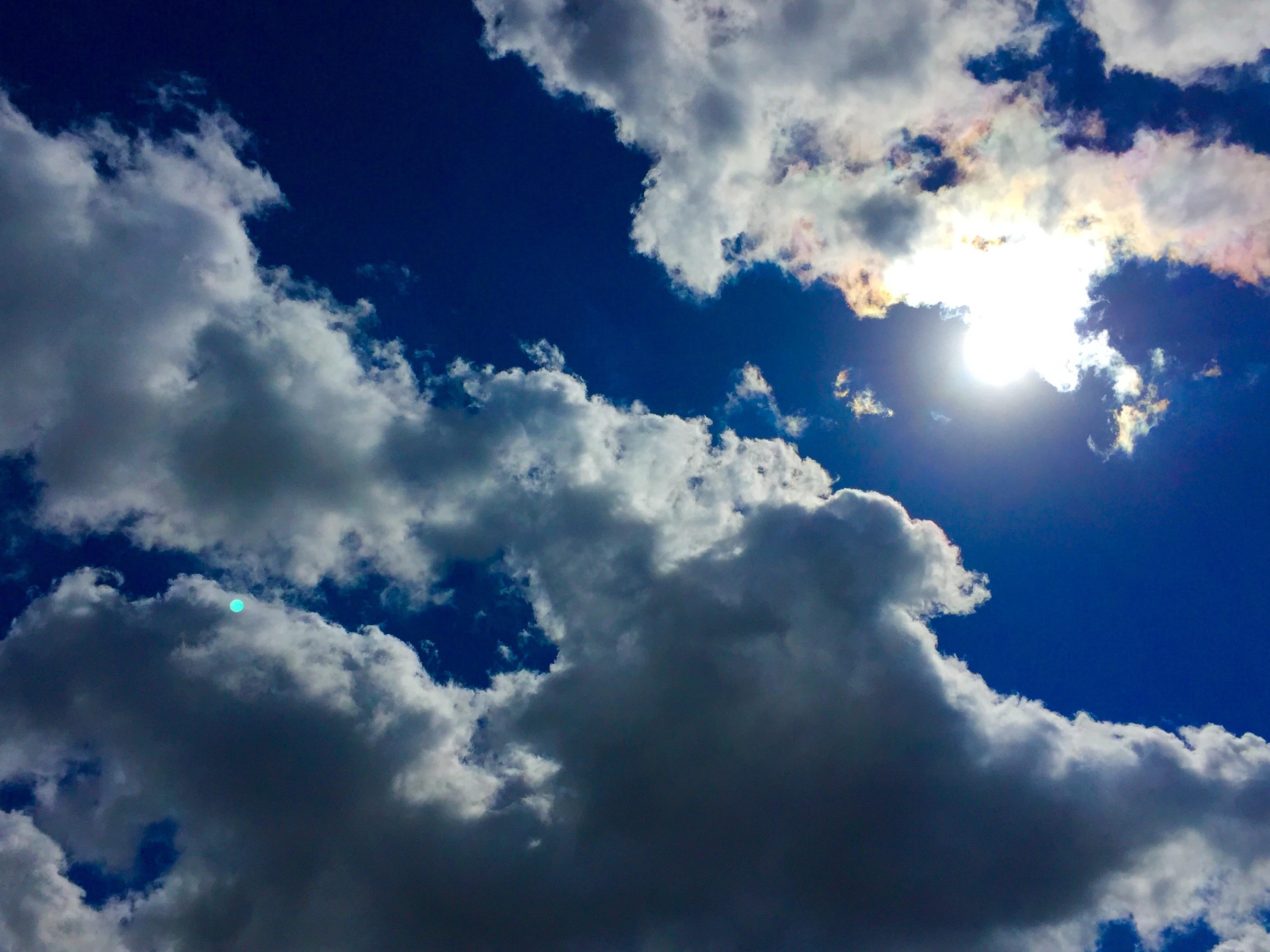 Картинки красивые облака