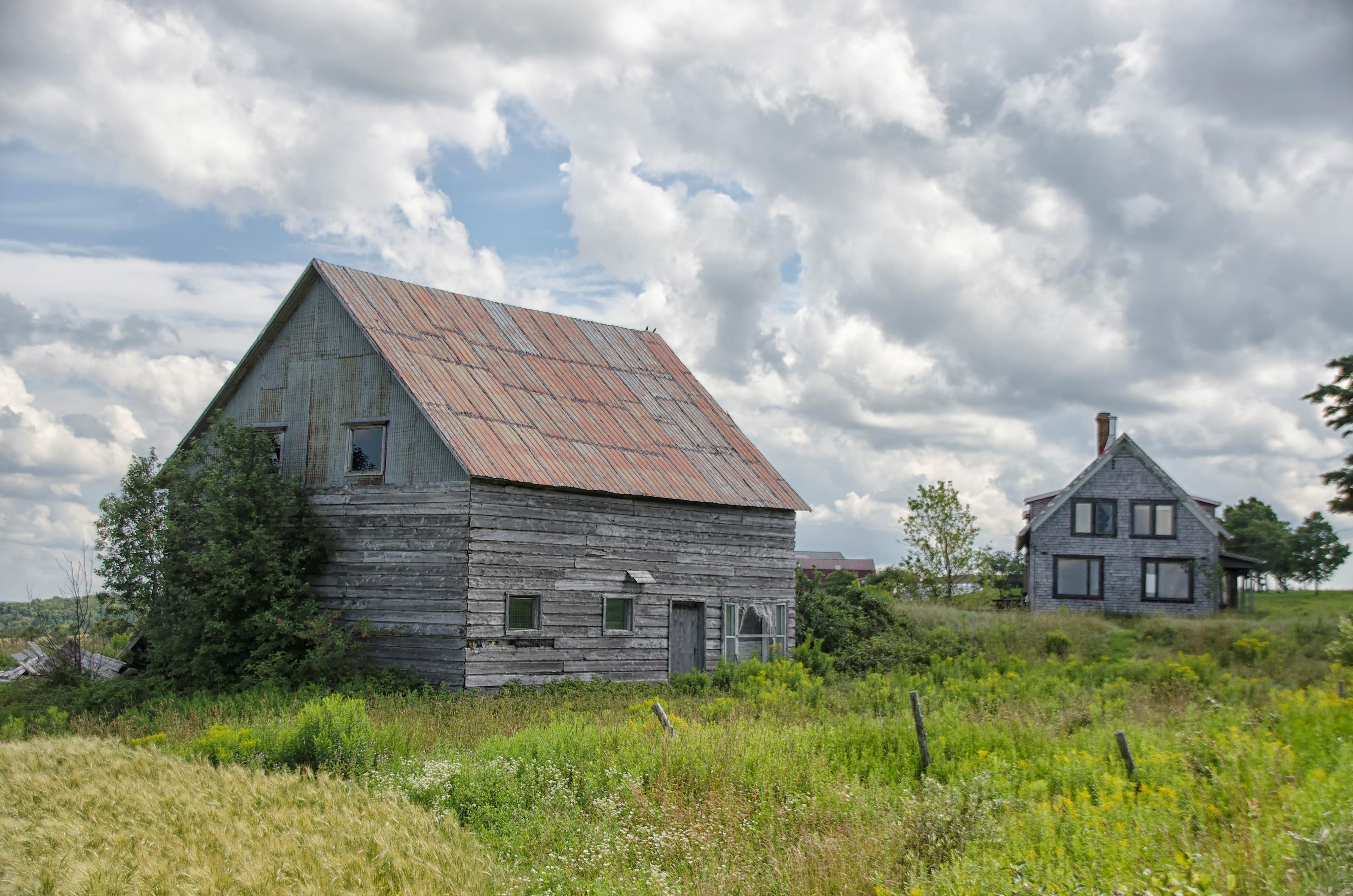 Images Gratuites : la nature, ferme, maison, bâtiment, Grange ...
