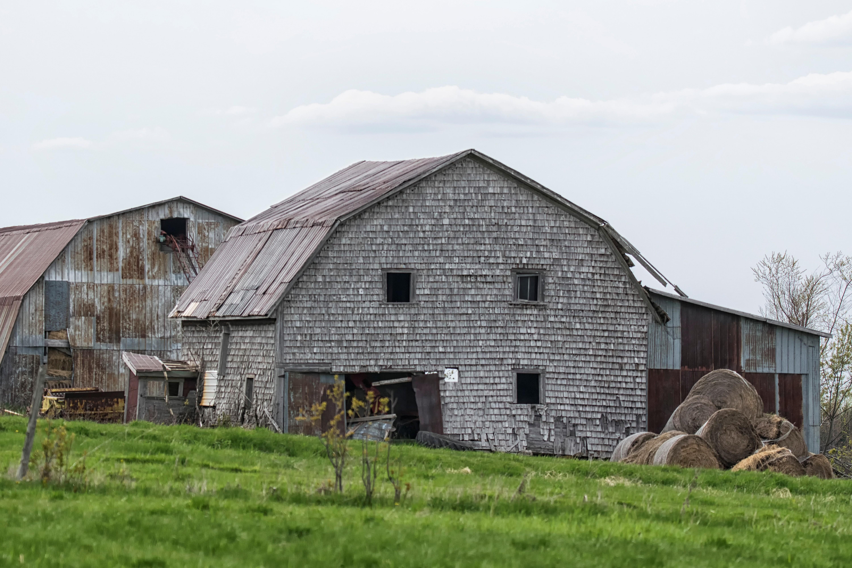 Images Gratuites : la nature, ferme, maison, toit, bâtiment ...