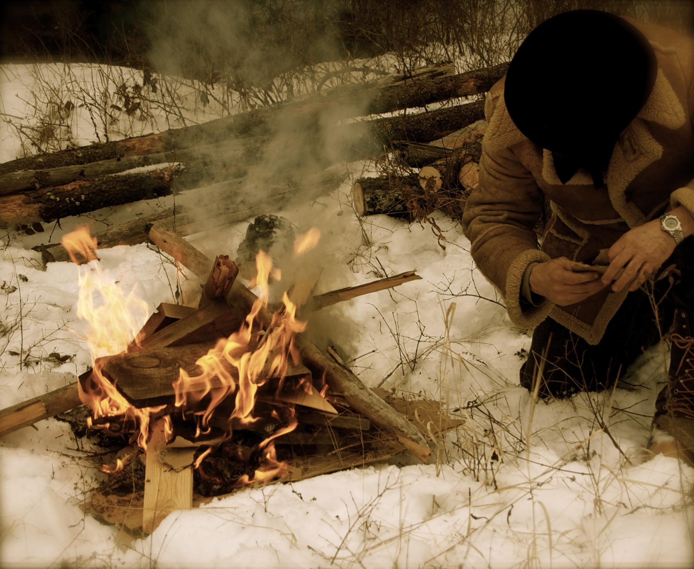 To build a fire man vs nature essay