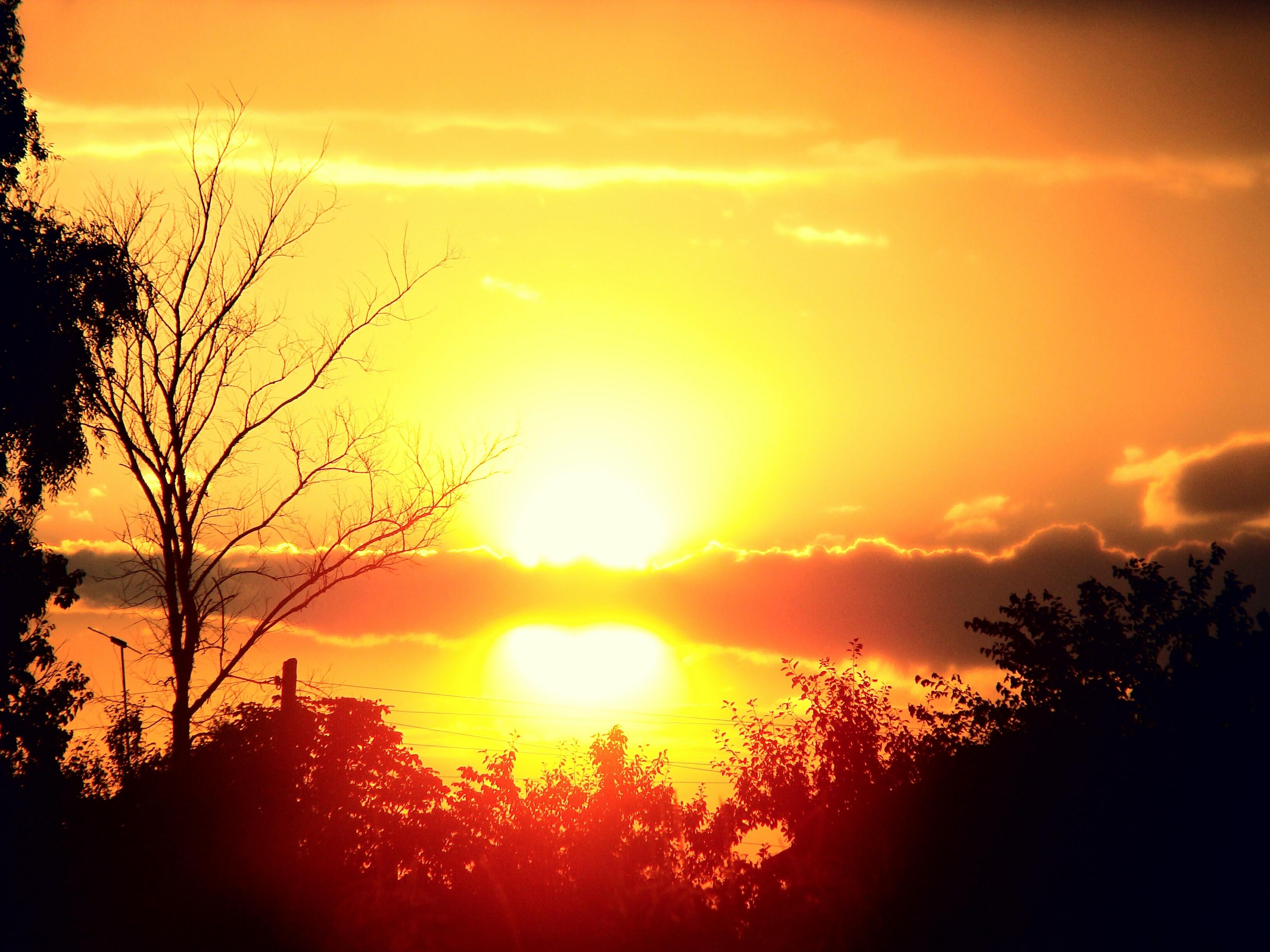 Красивые картинки восхода заката солнца
