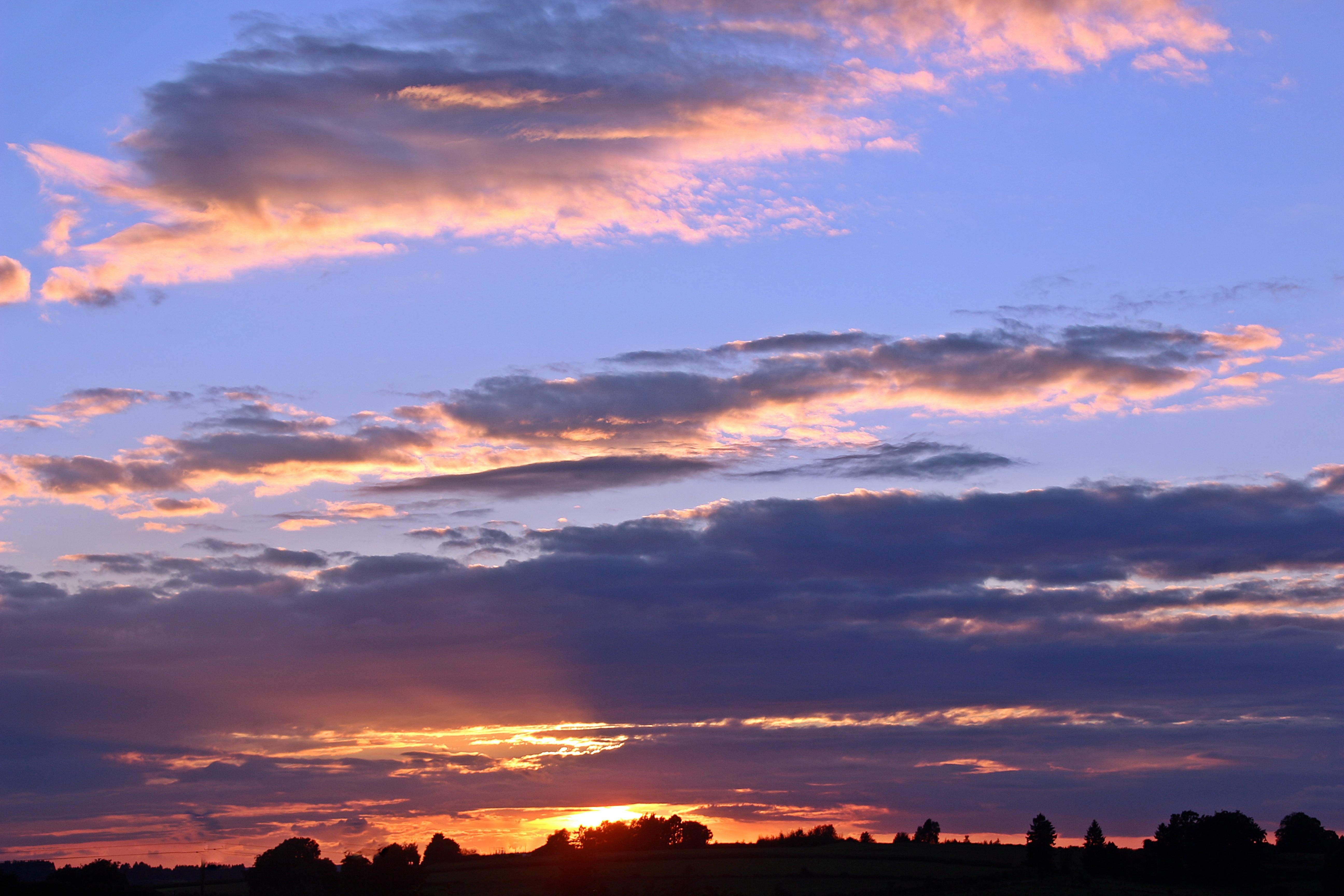 Free Images : Nature, Horizon, Sunrise, Sunset, Dawn