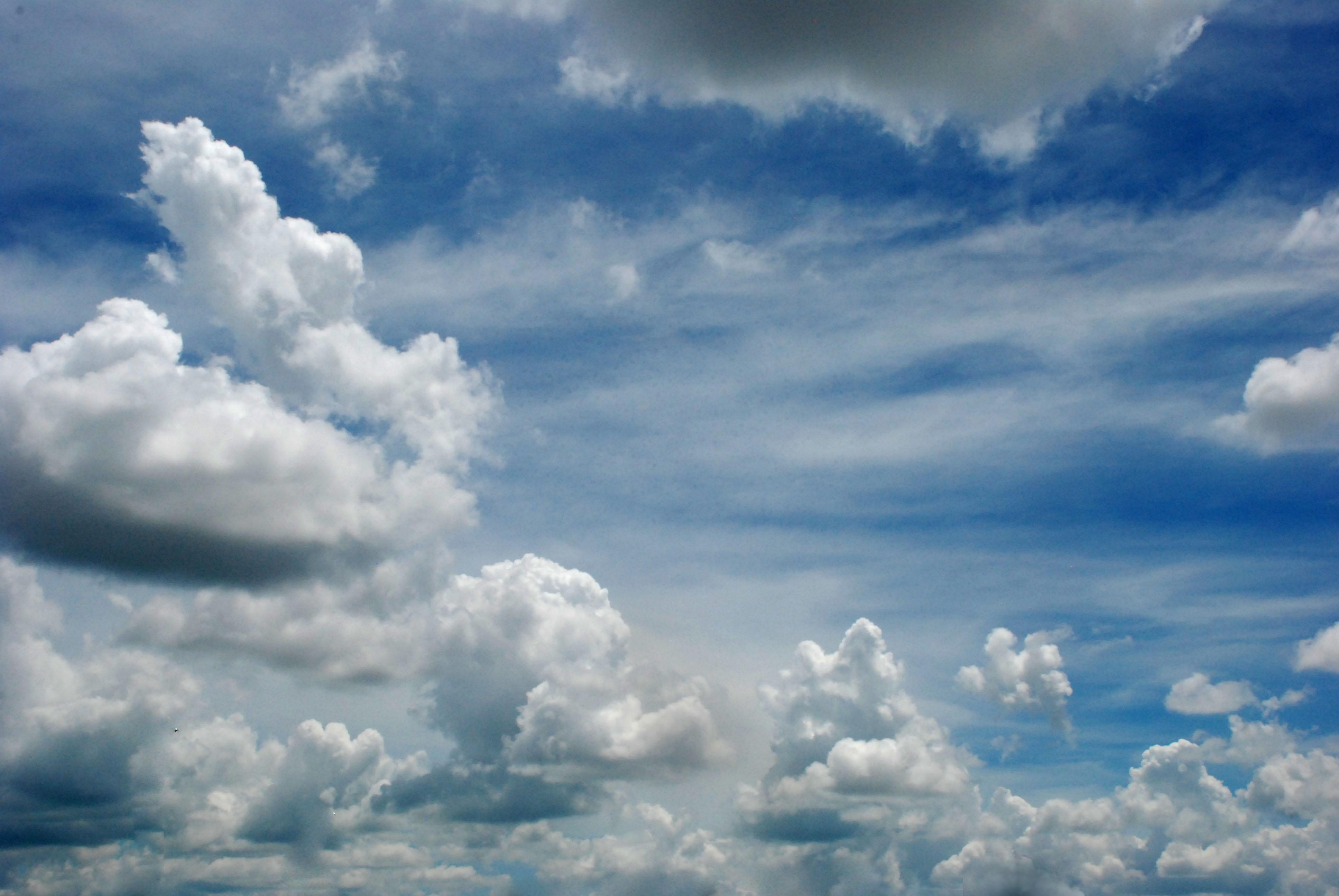 картинки красивое небо с облаками лосей