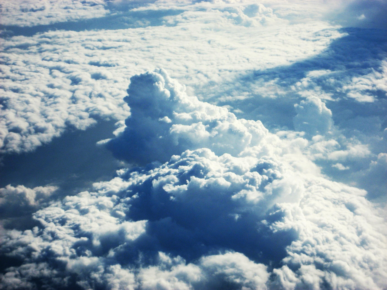 Free Images : nature, horizon, cloud, white, skyline, sunlight, air ...
