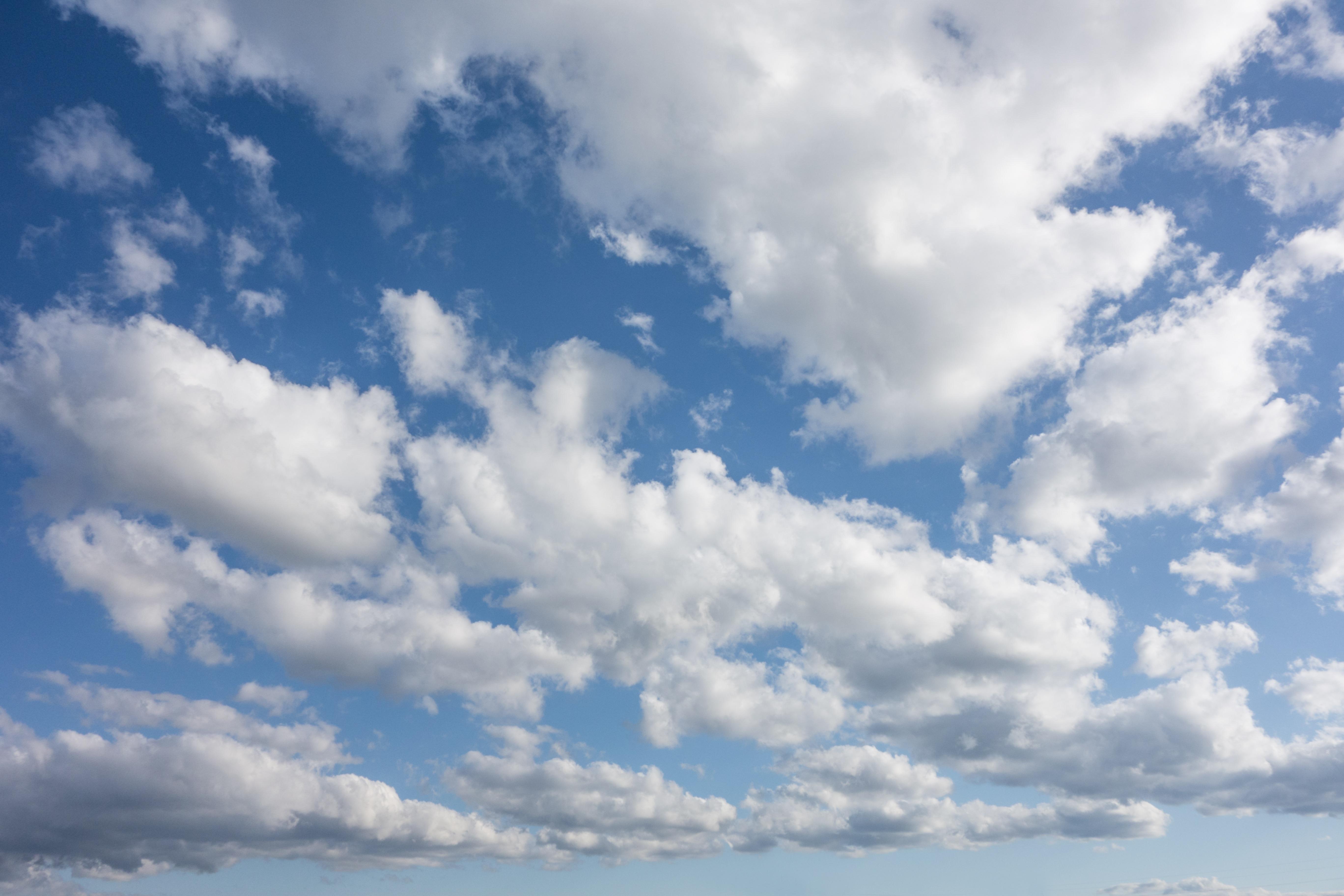 landscape sky blue clouds sun light rays HD wallpaper  |Light Blue Sky Clouds