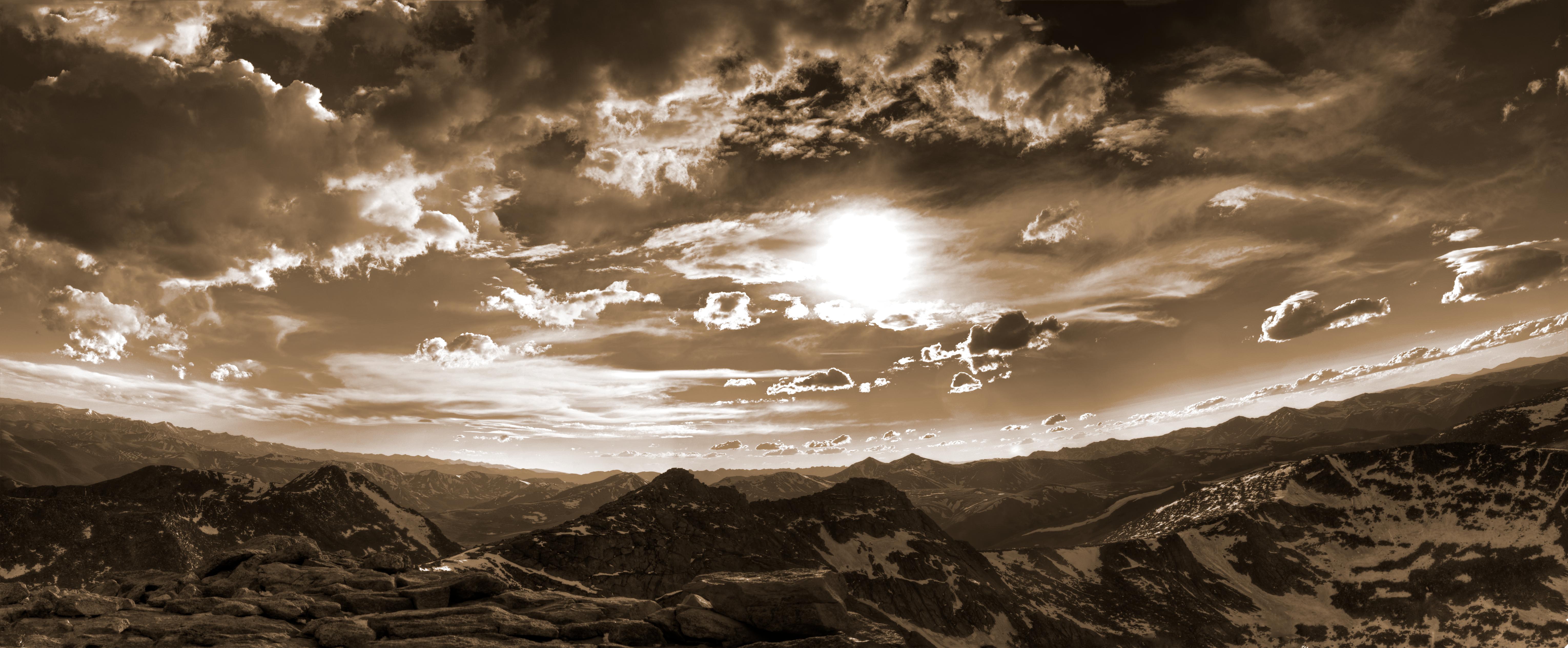 Free Images : nature, mountain, light, cloud, sky, night, sunlight ...
