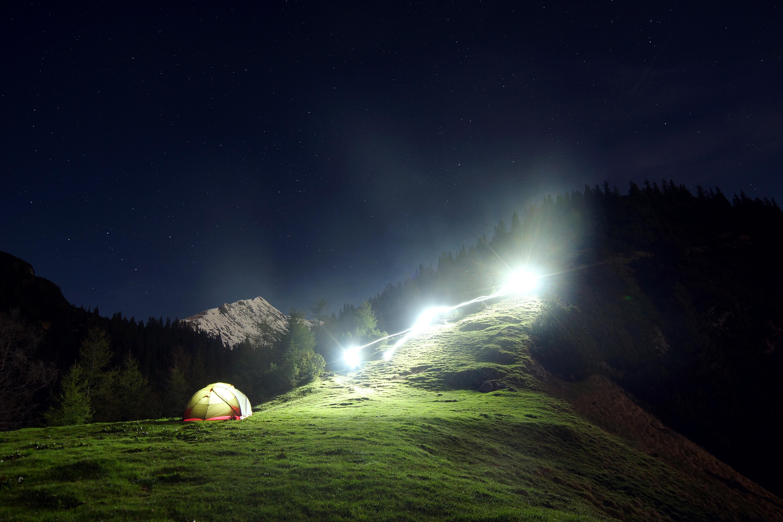 Nature Mountain Light Sky Night Sunlight Atmosphere Range Dark Slope Darkness Aurora Tent Moonlight Astronomical