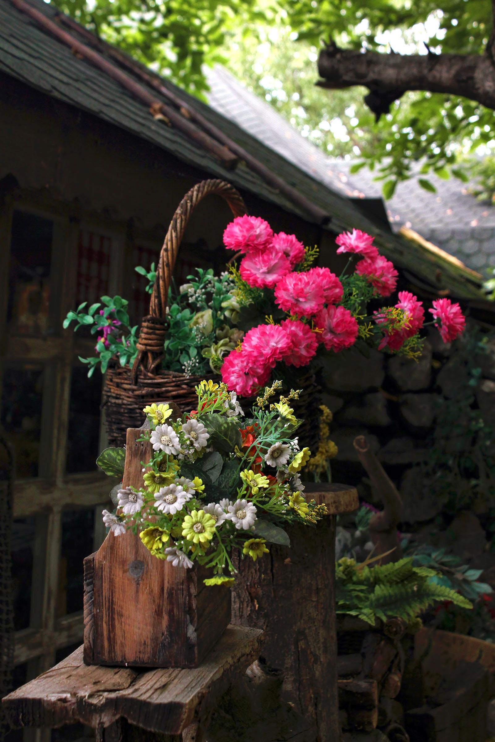 Immagini belle natura all 39 aperto fiorire panchina for Disegni del mazzo del cortile