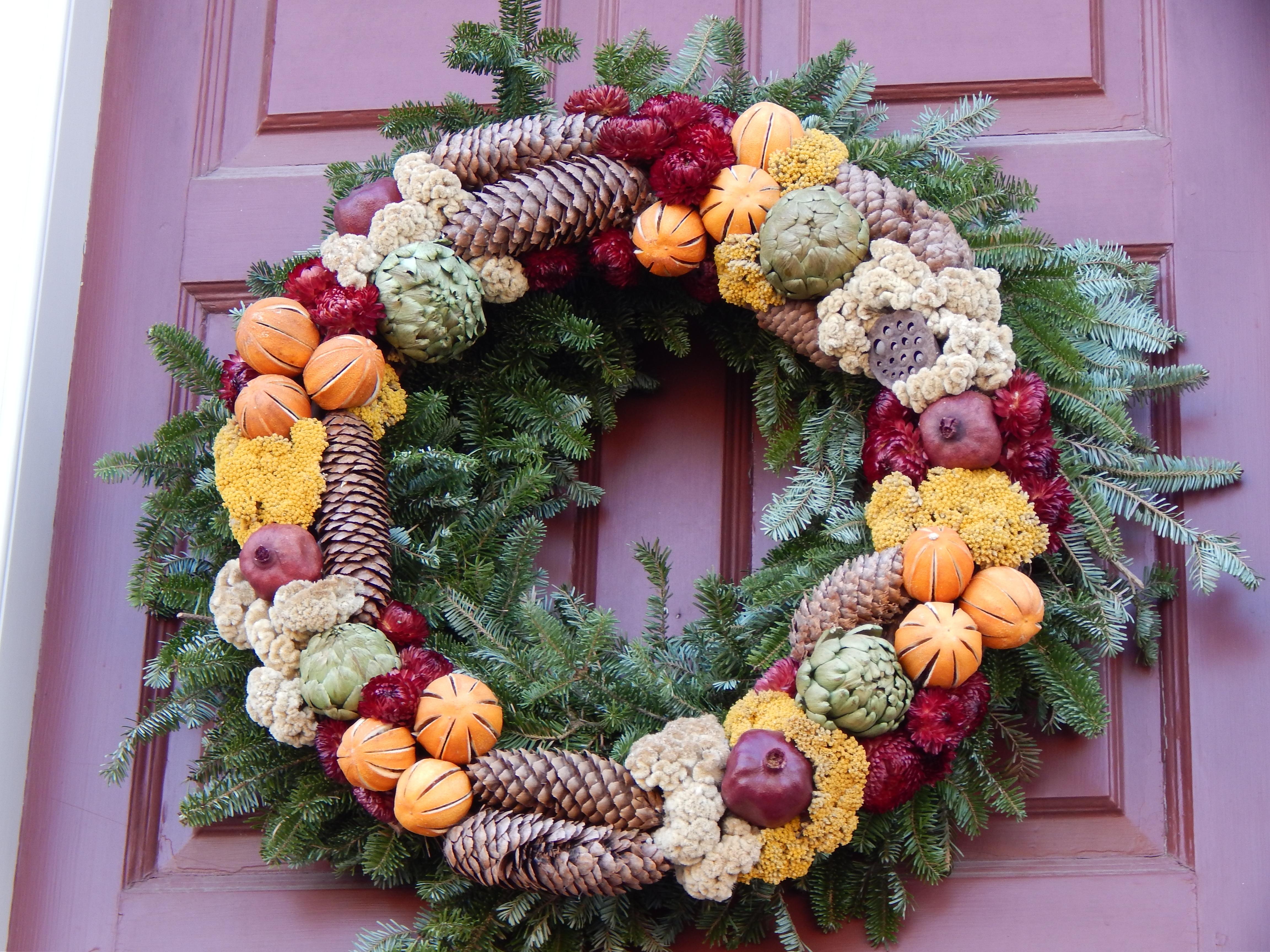 Fotos gratis naturaleza al aire libre invierno casa - Decoracion navidena natural ...