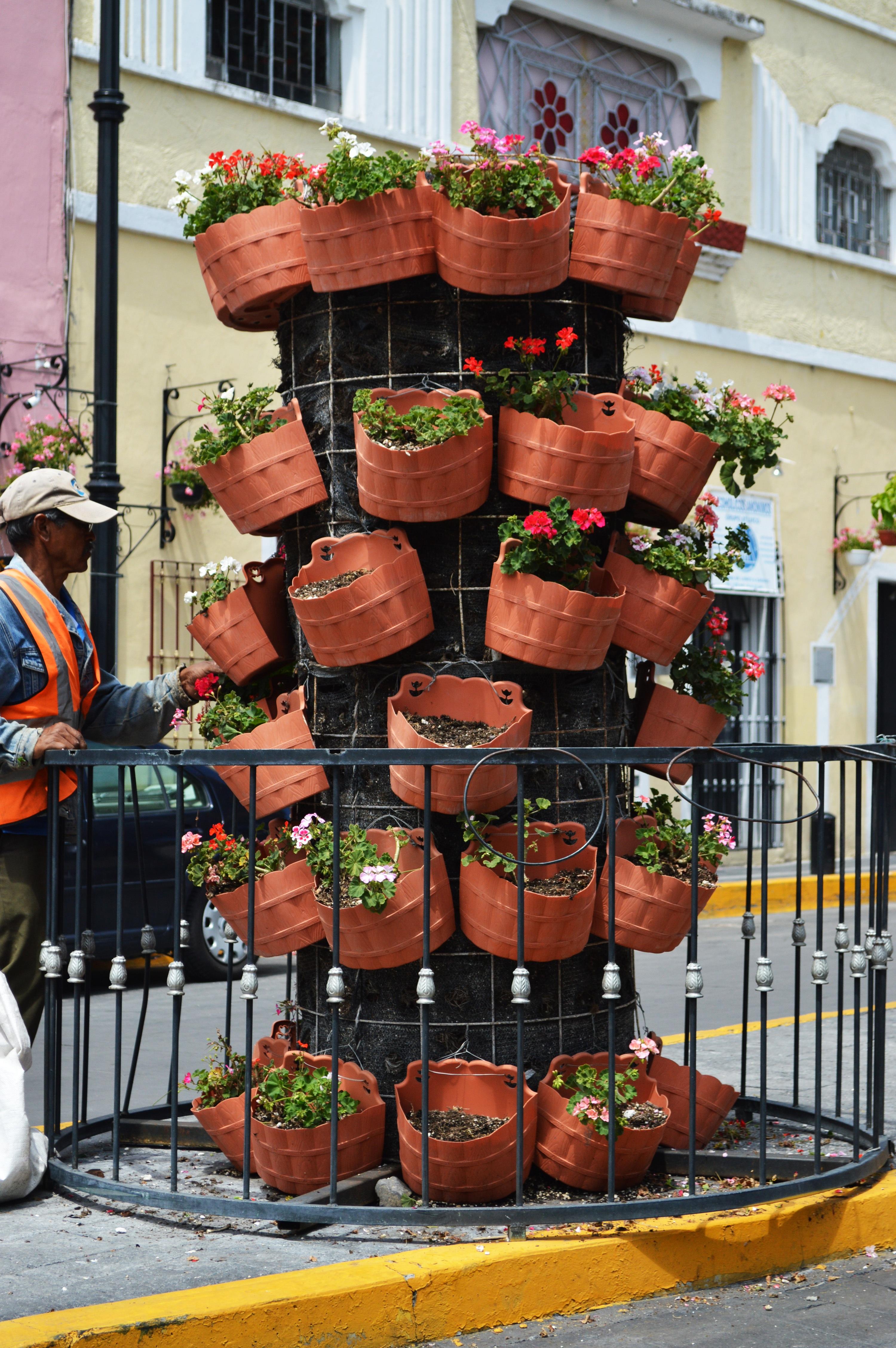 handmade pots decorative deeper artistic interior plants green decor original for