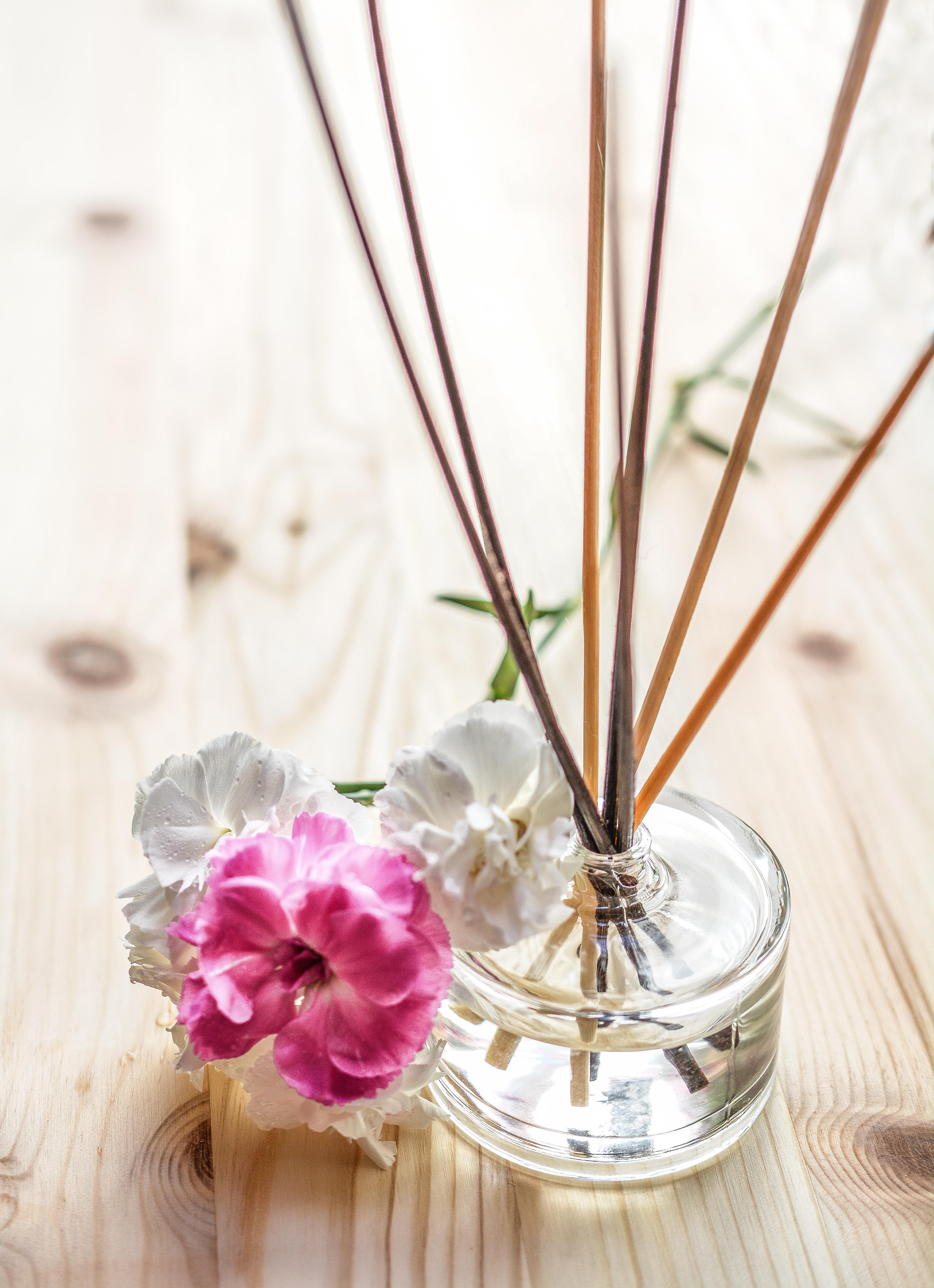 Glass Vase Fragrant Aroma Pottery & Glass