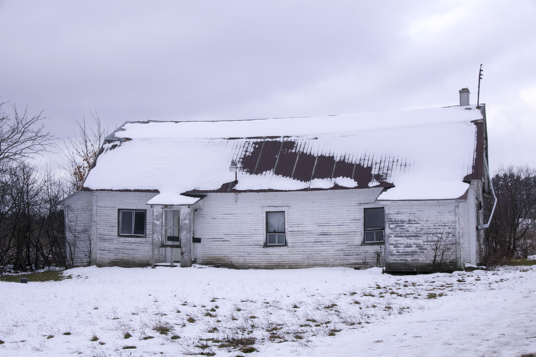 Images Gratuites : la nature, neige, hiver, maison, bâtiment, Grange ...