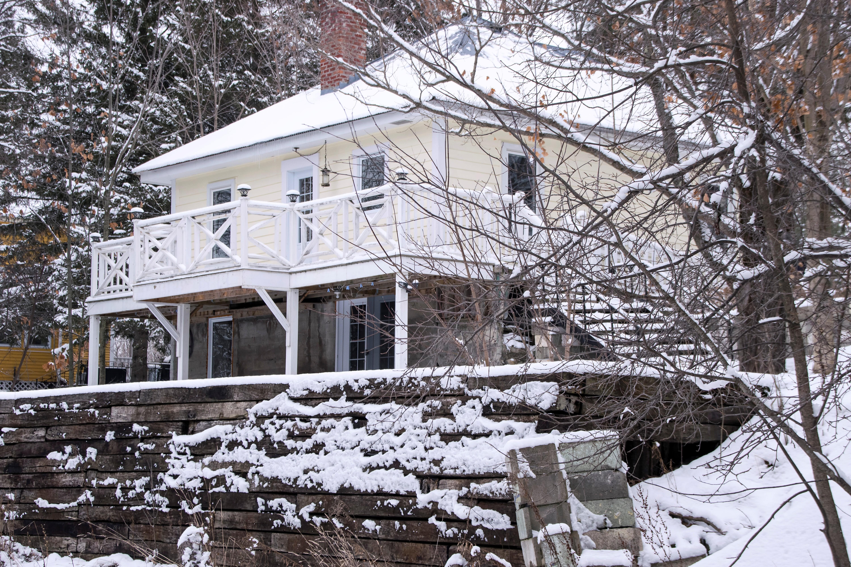 Images Gratuites : la nature, neige, hiver, maison, chalet, Météo ...