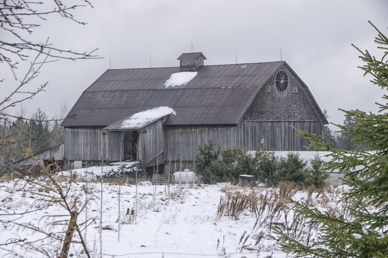 Images Gratuites : la nature, neige, hiver, maison, toit, bâtiment ...
