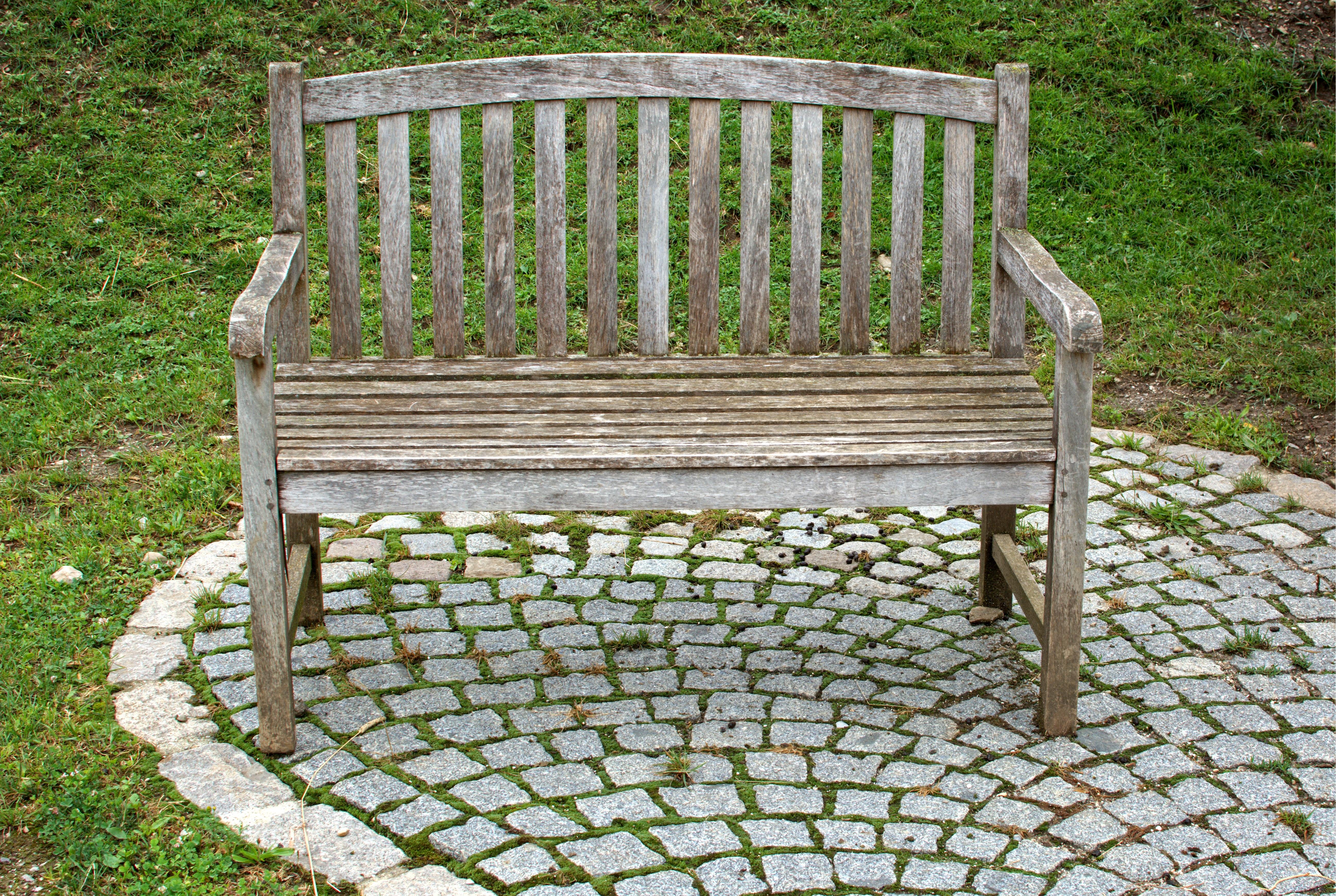 Fotos gratis naturaleza banco silla asiento id lico for Banco para jardin exterior
