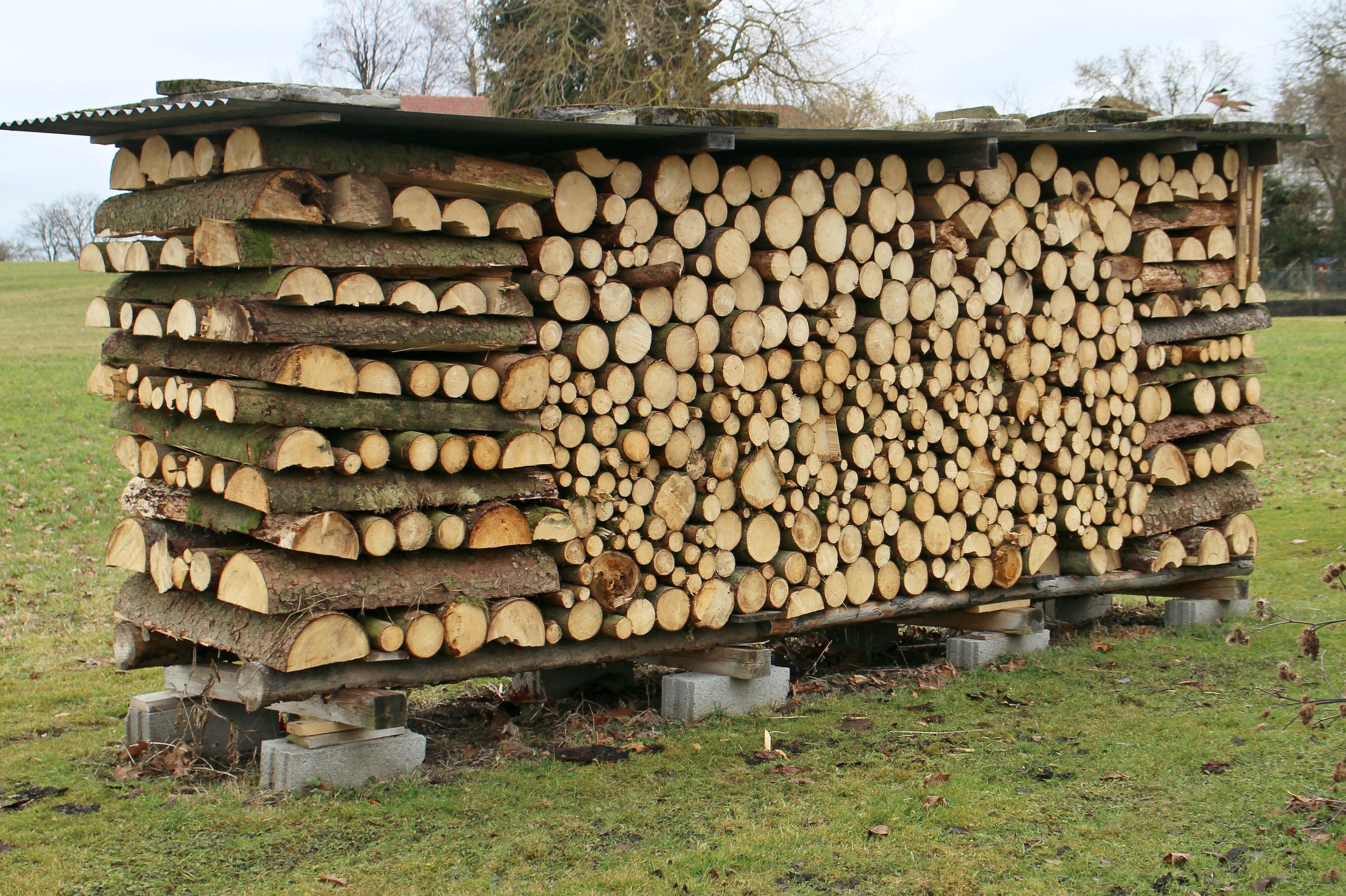 images gratuites la nature bois de chauffage empiler agriculture bois d 39 oeuvre invert br. Black Bedroom Furniture Sets. Home Design Ideas