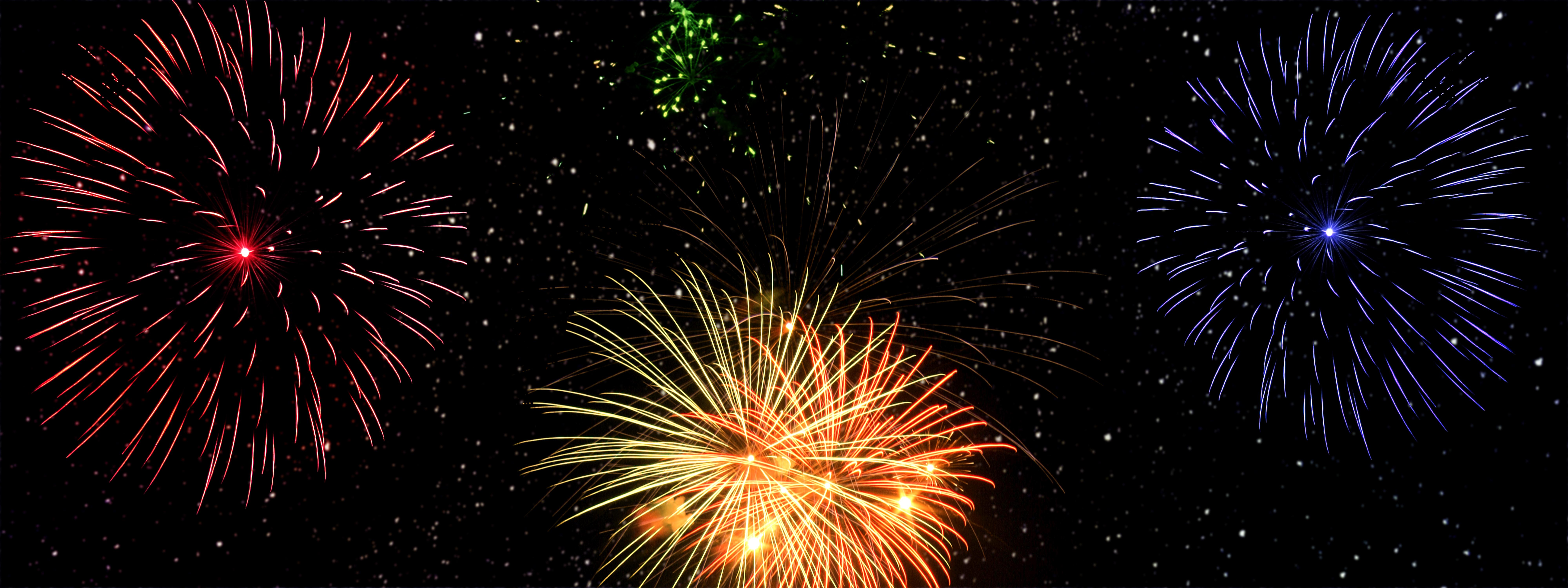 Gambar : tahun Baru, malam tahun baru, kembang api, spanduk