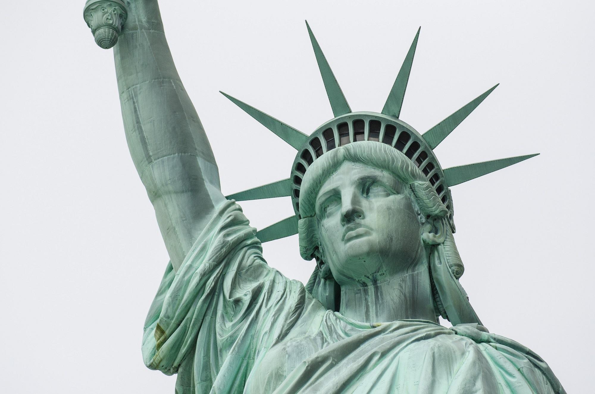 Free images new york manhattan monument green statue of new york manhattan monument statue green statue of liberty symbol nyc america landmark freedom attraction lady biocorpaavc