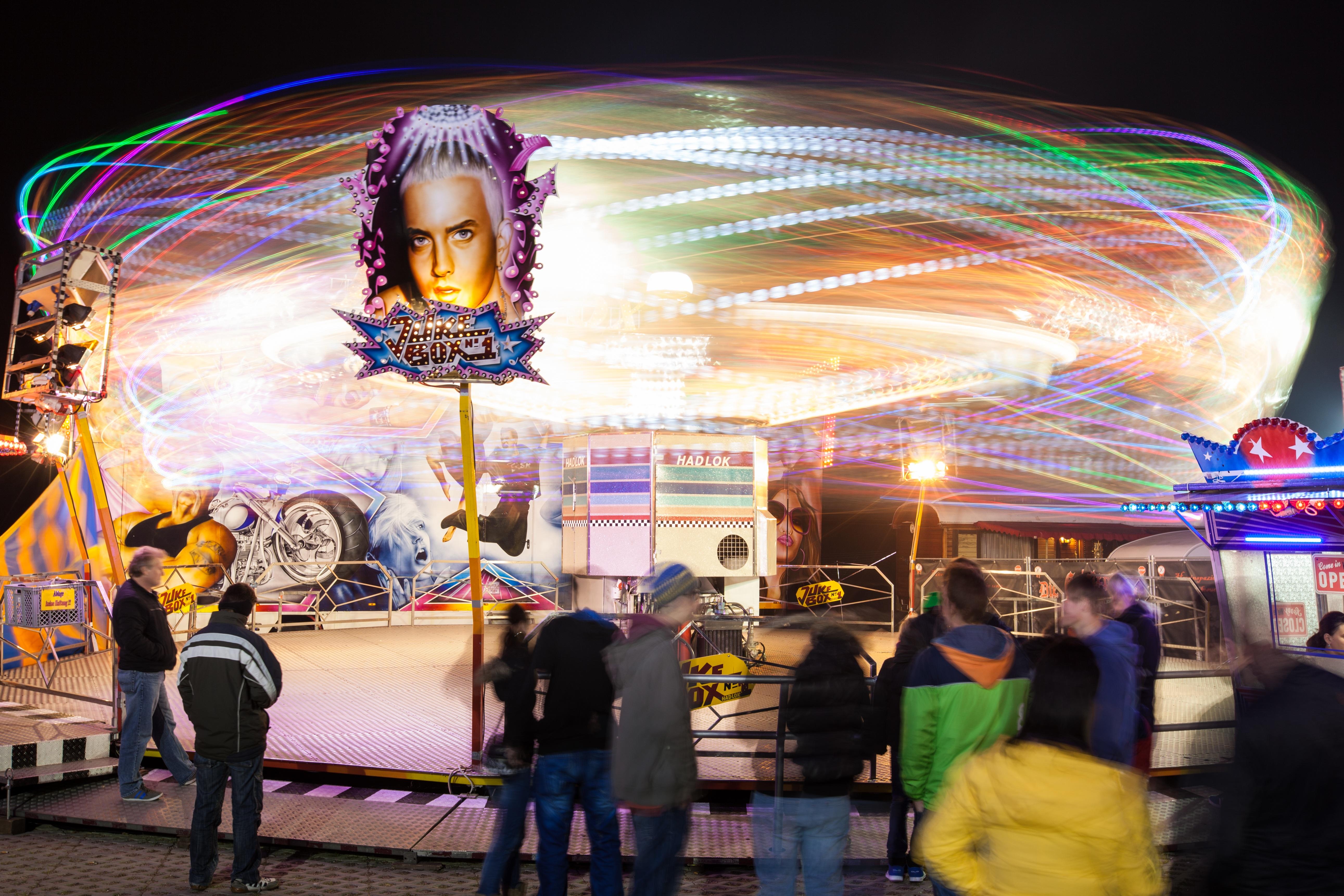 Joy at the fairground