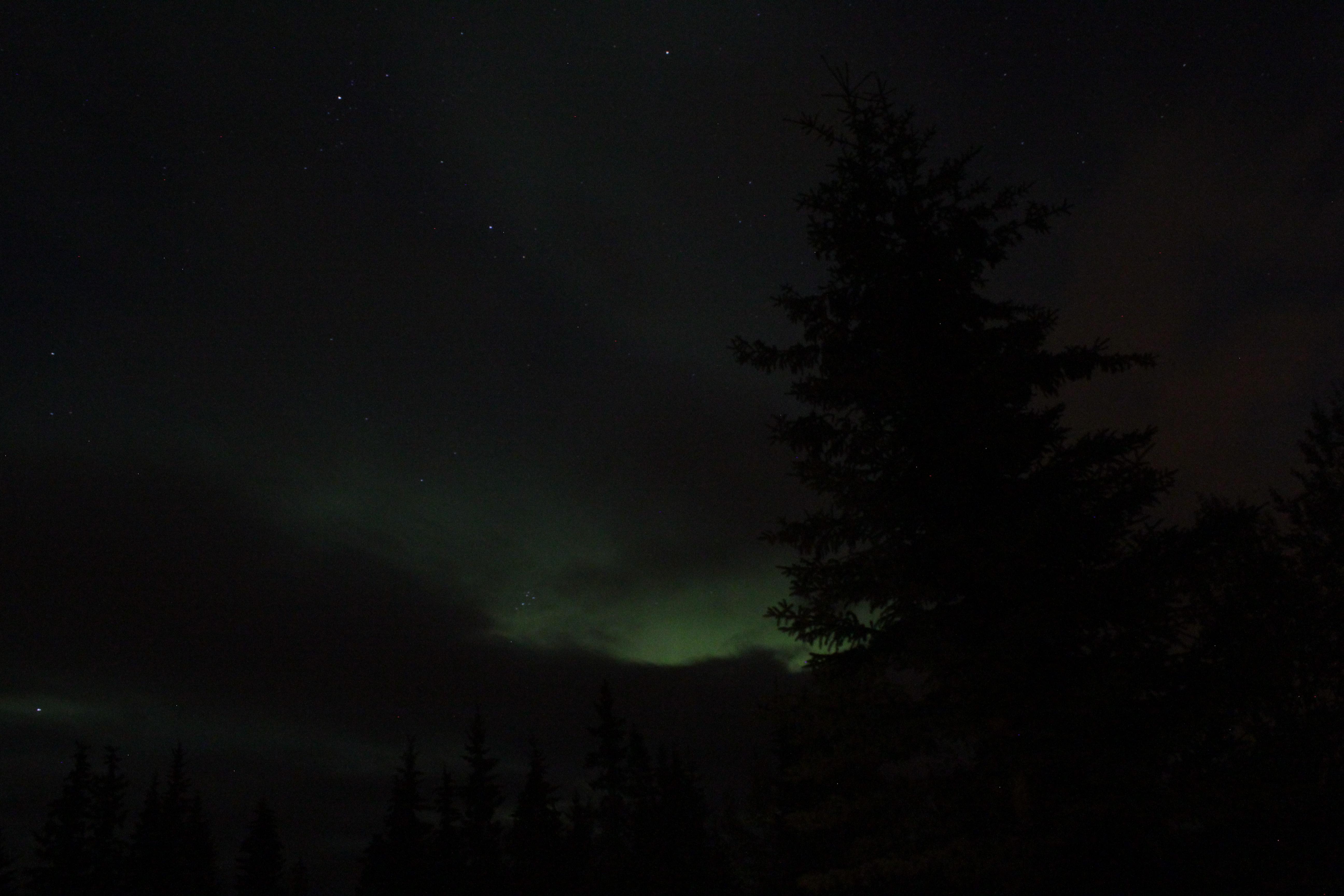 Free night atmosphere darkness aurora moonlight