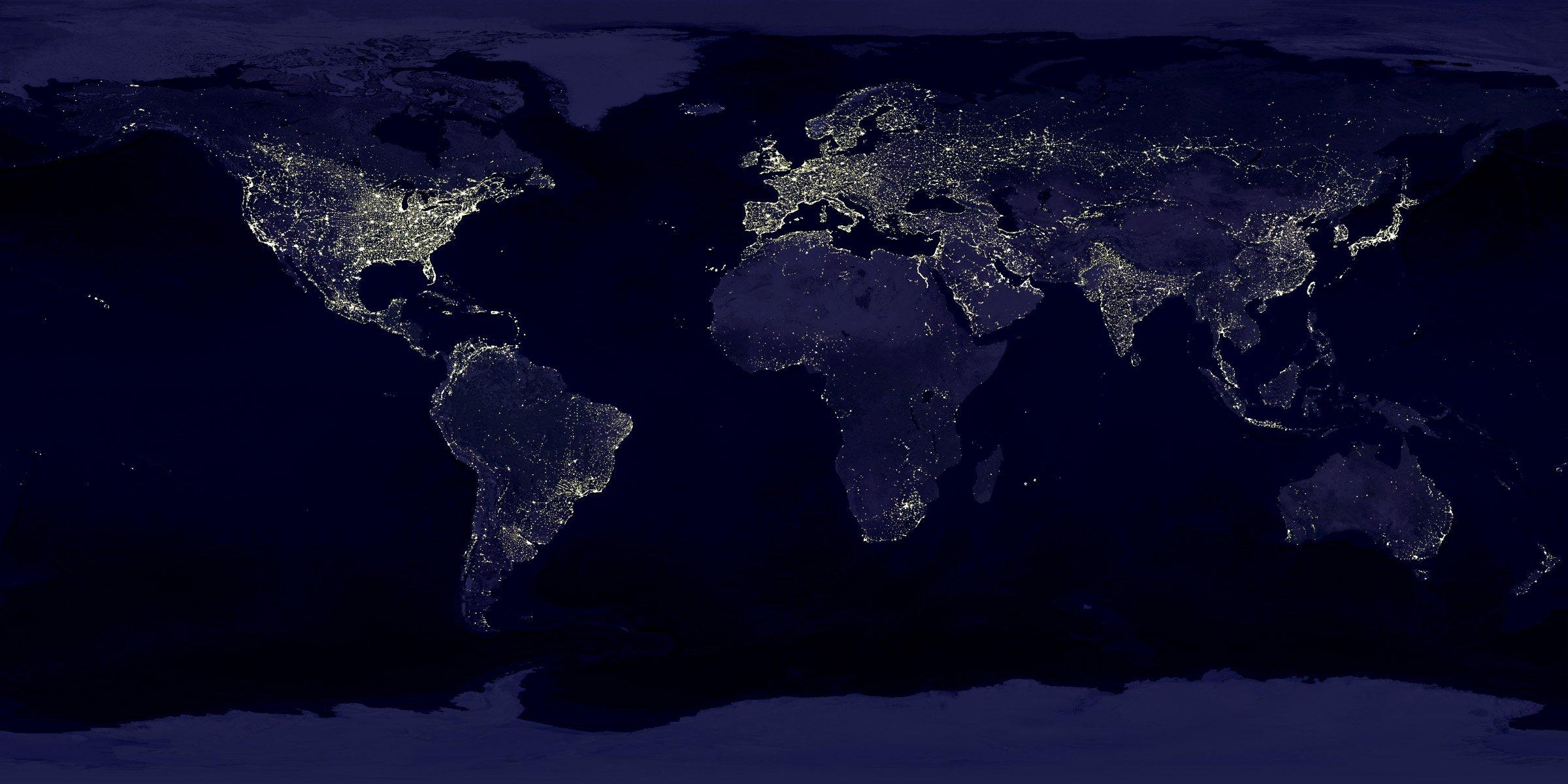 Atmosphere Arctic Lighting Moonlight