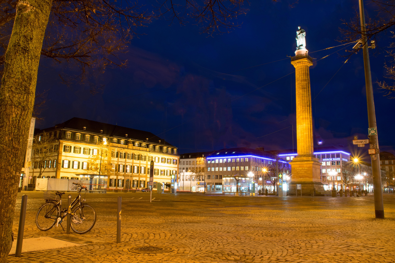Restaurant Darmstadt Innenstadt : kostenlose foto nacht stadt stadtbild innenstadt ~ Watch28wear.com Haus und Dekorationen