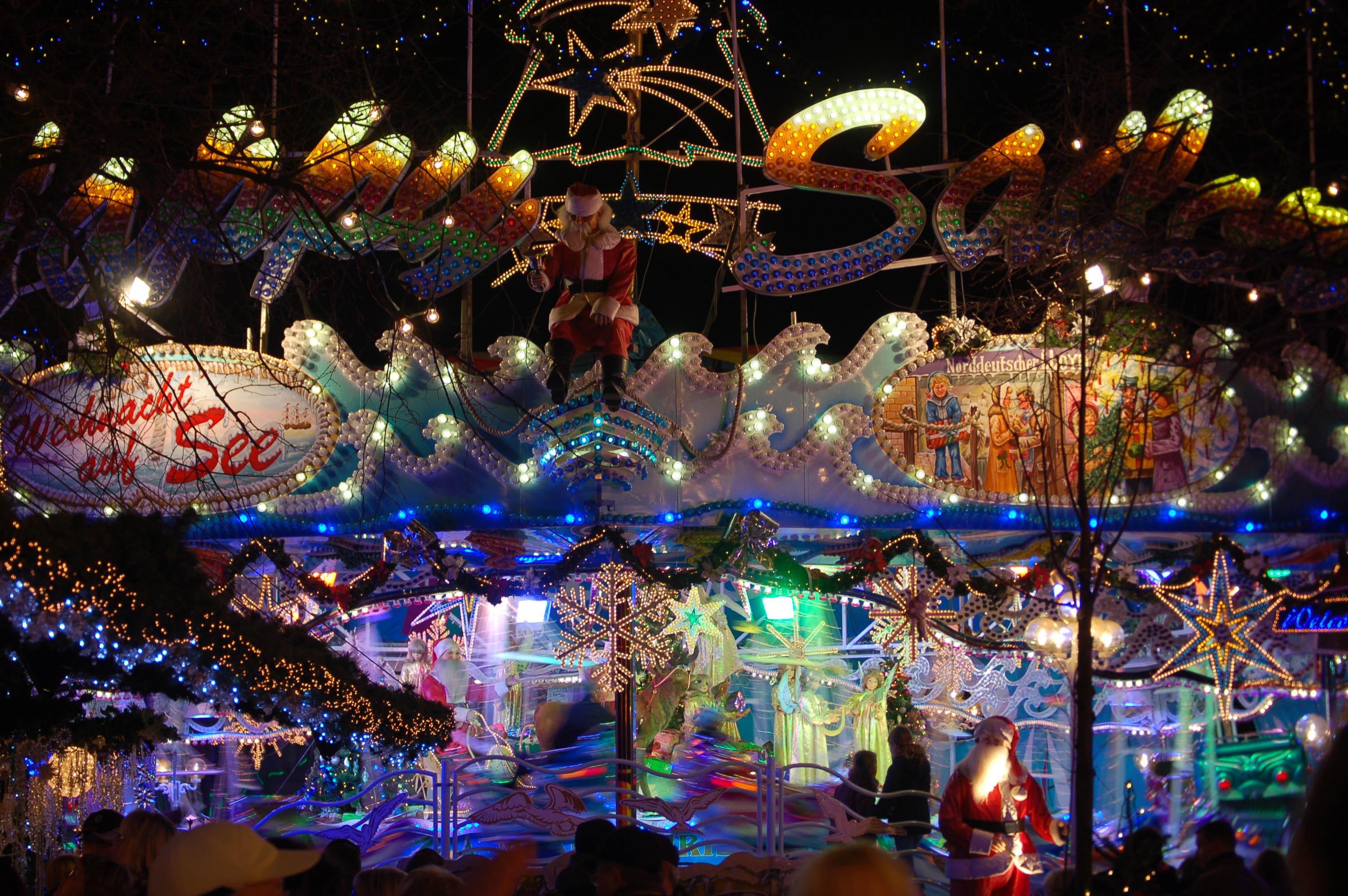 free images night city recreation carnival amusement park