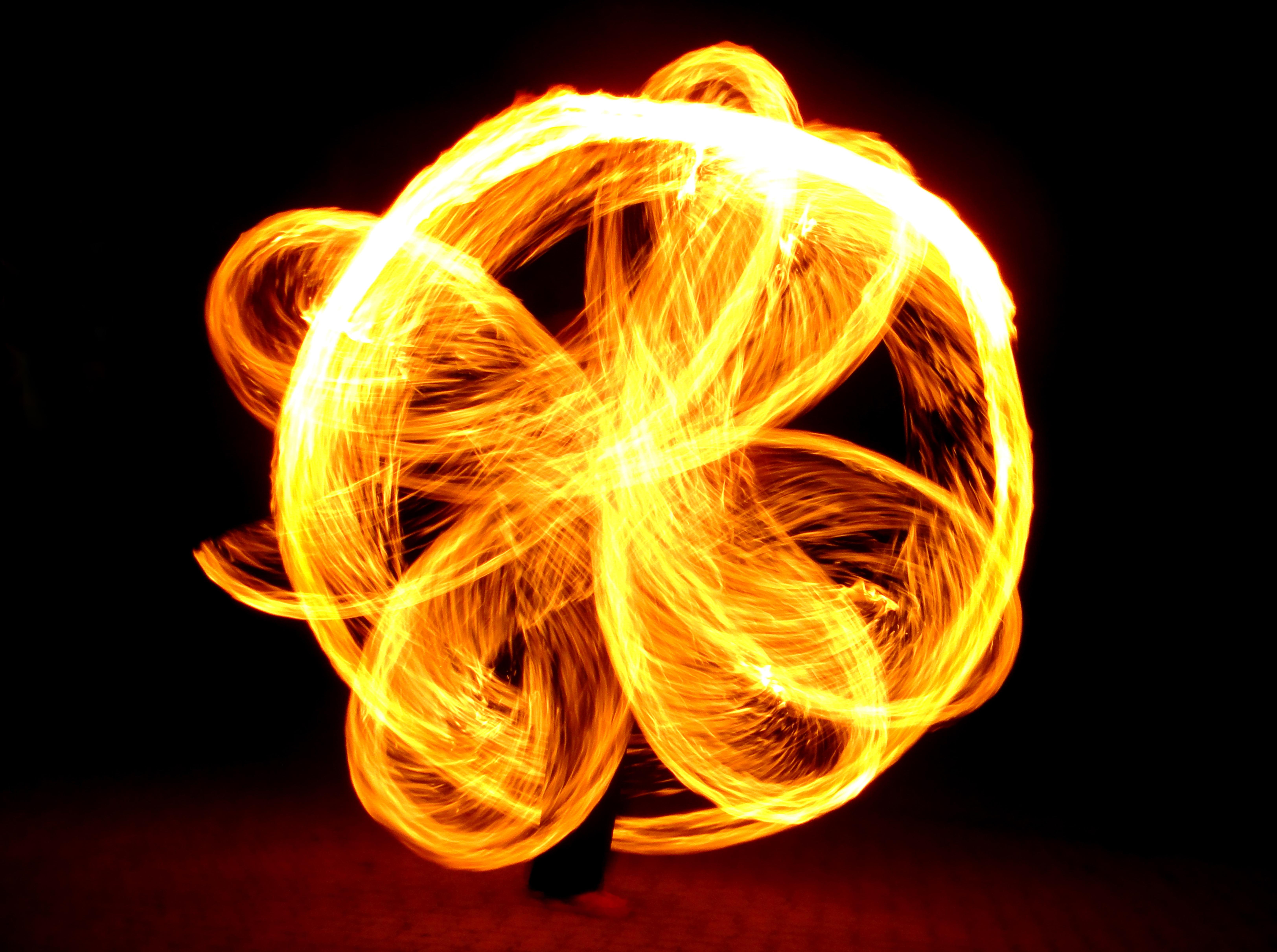 Images Gratuites Nuit Cierge Magique Danse Feu Jaune Cercle
