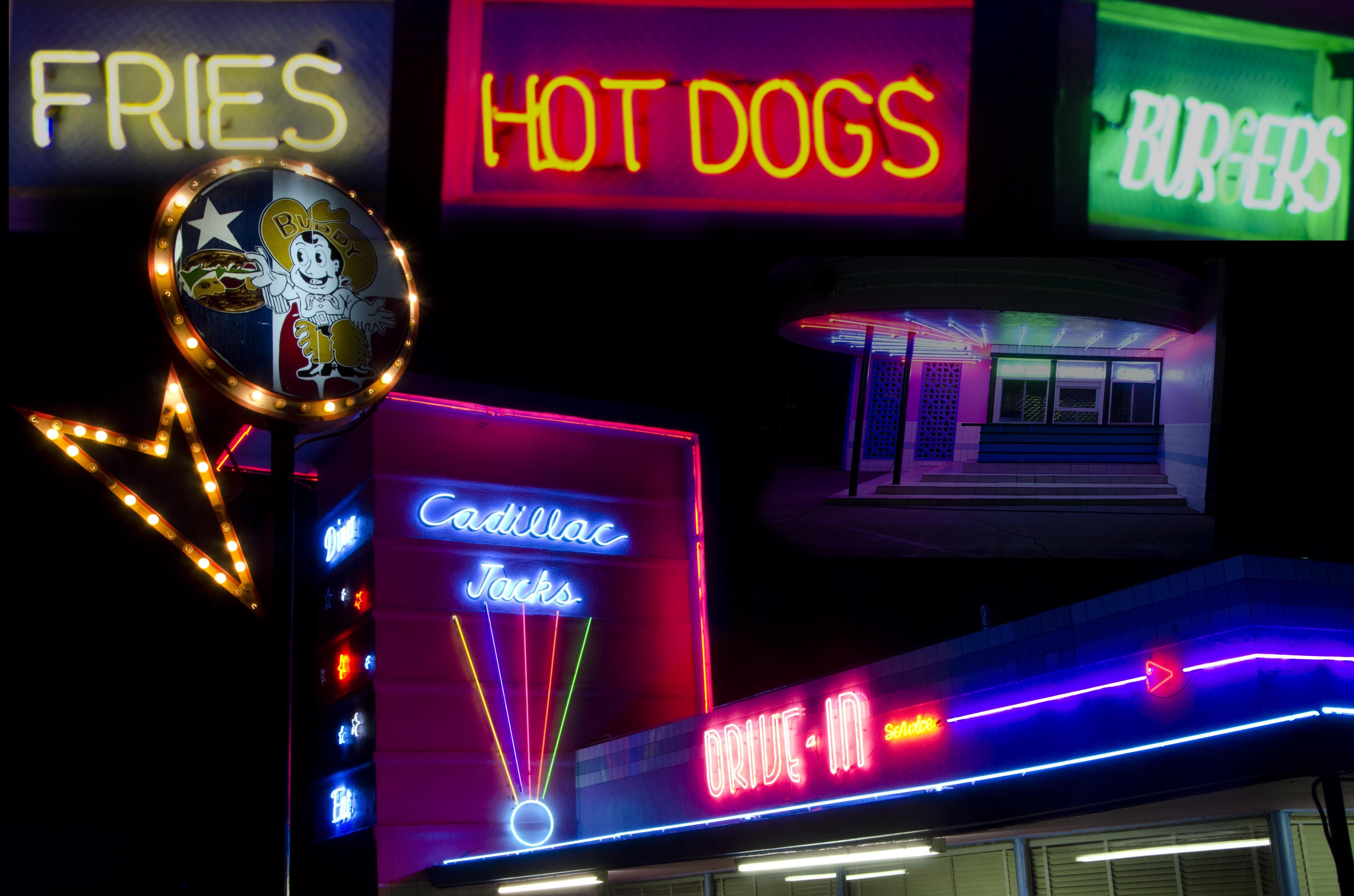 Free Images Night Restaurant Food Diner Neon Sign Bistro