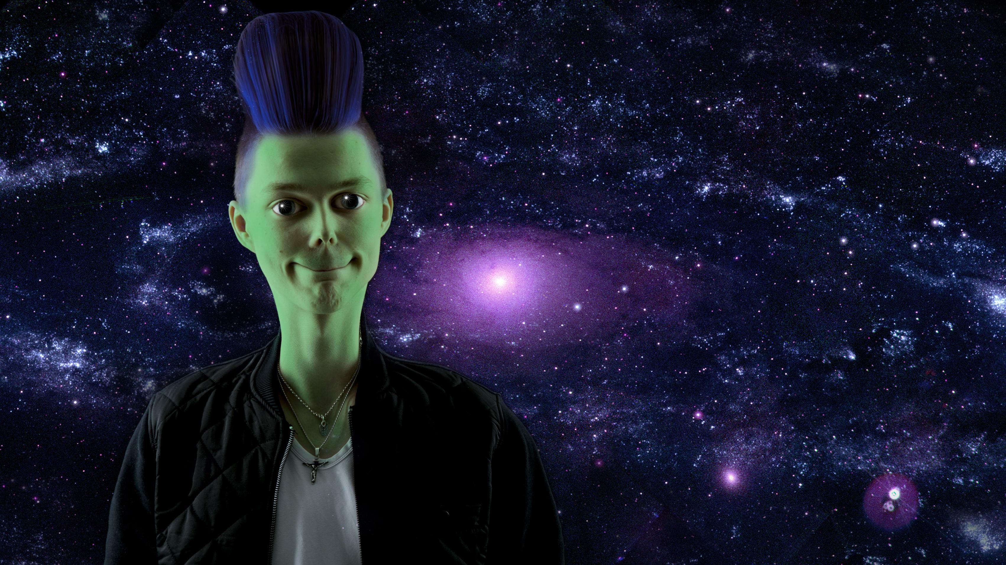 Images gratuites nuit toile atmosph re espace humain obscurit cosmo - Objet de science fiction ...
