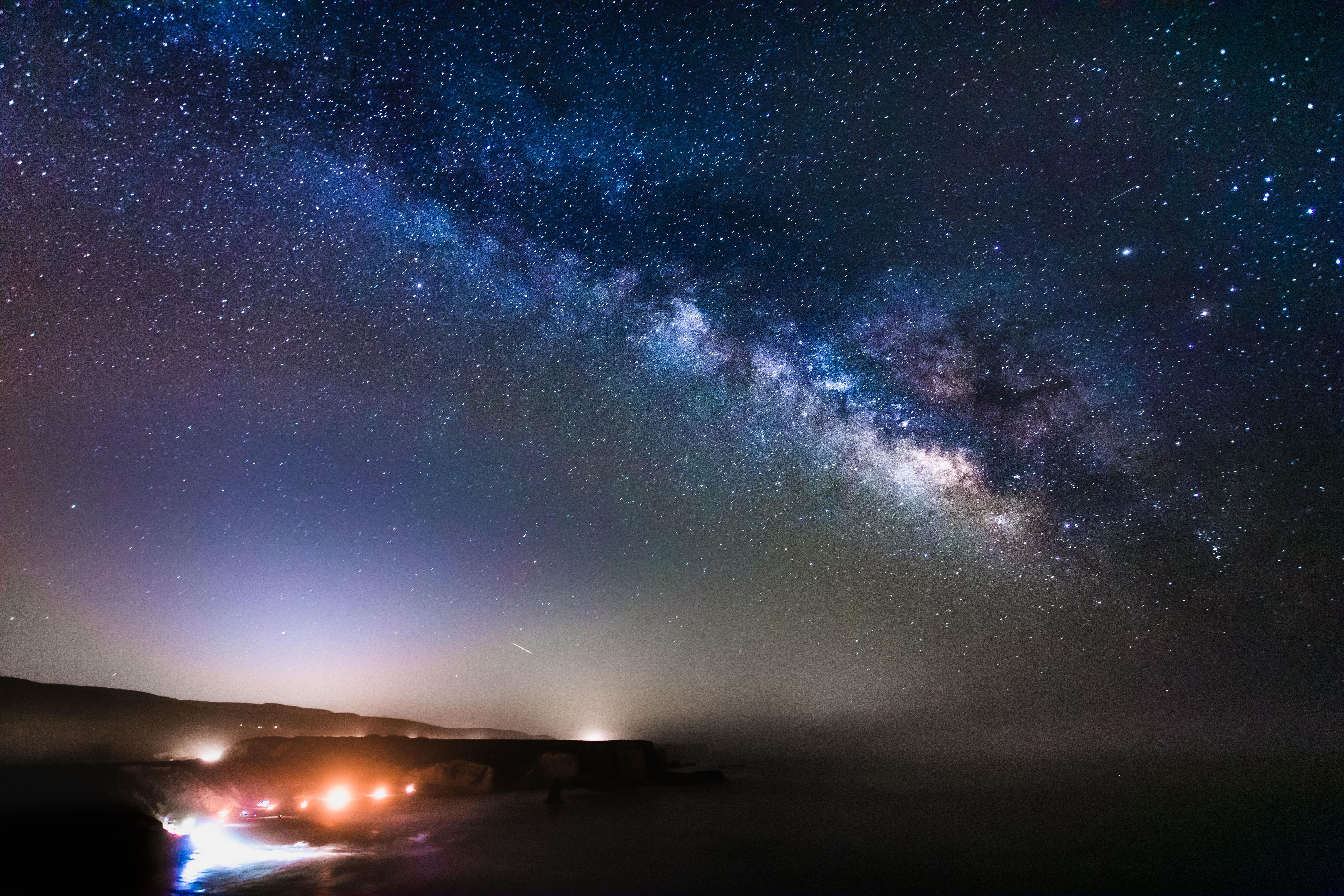 milky way galaxy - HD1600×1066