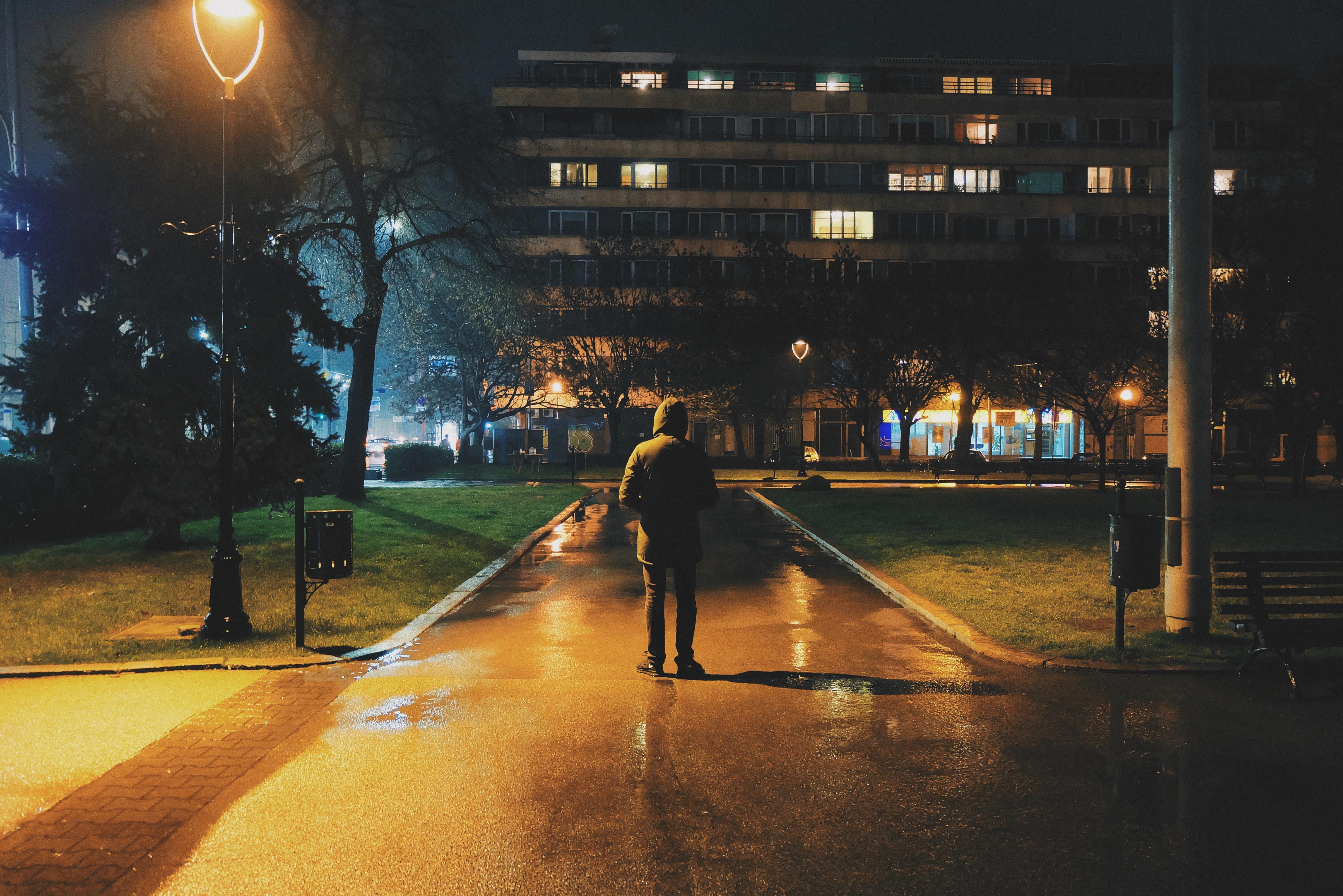картинки улицы ночью пацаны